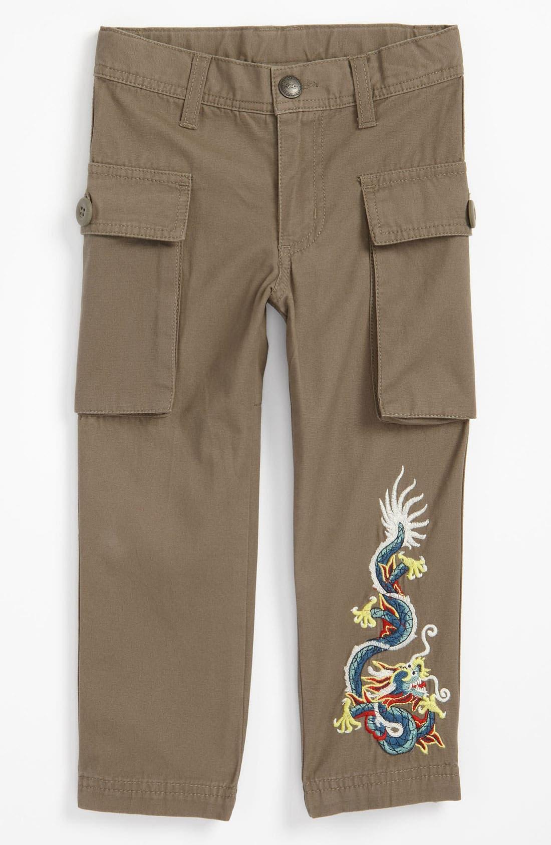 Main Image - Tea Collection 'Dragon' Pants (Toddler)