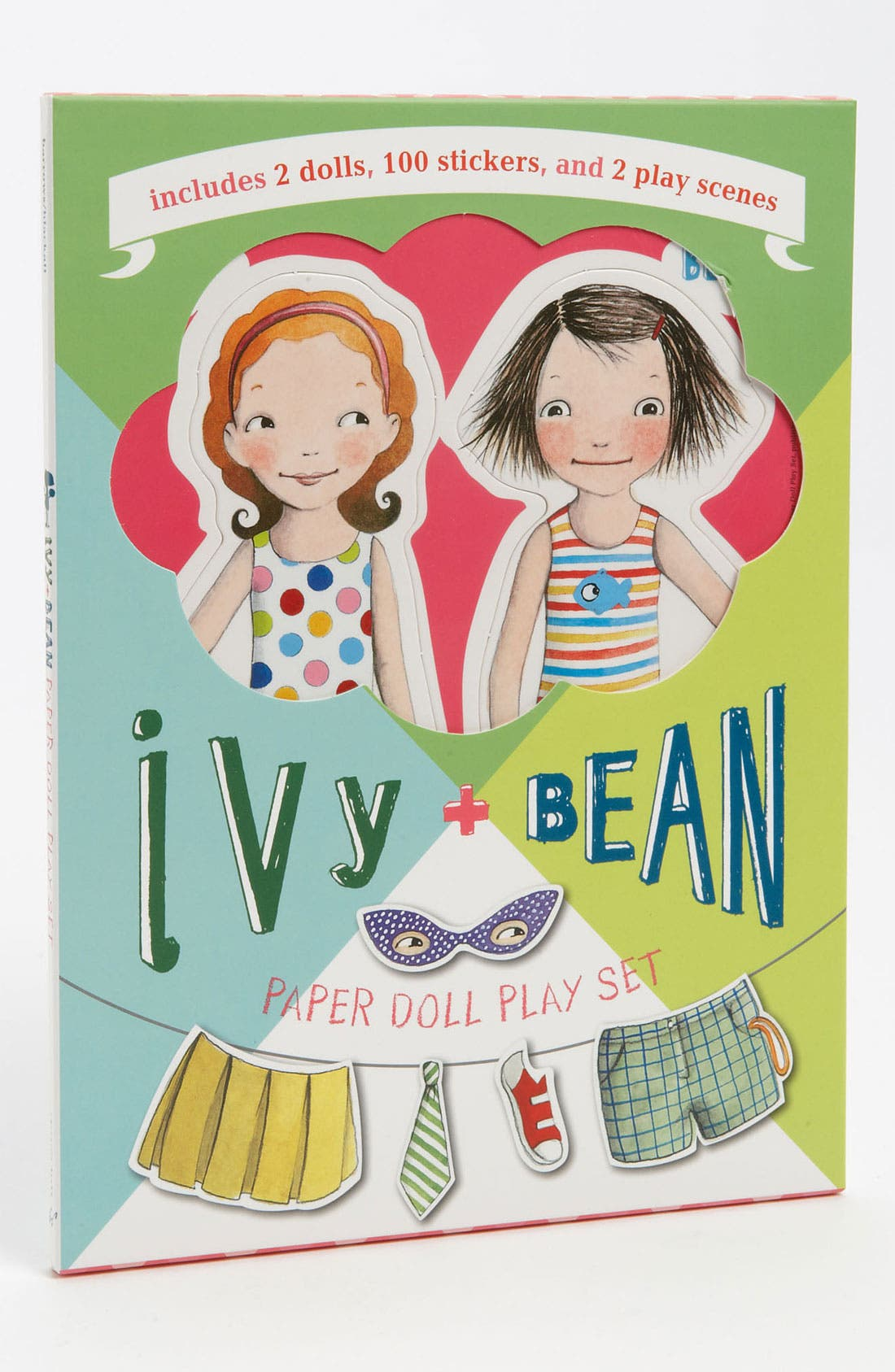 Alternate Image 1 Selected - Annie Barrows & Sophie Blackall 'Ivy + Bean' Paper Doll Set