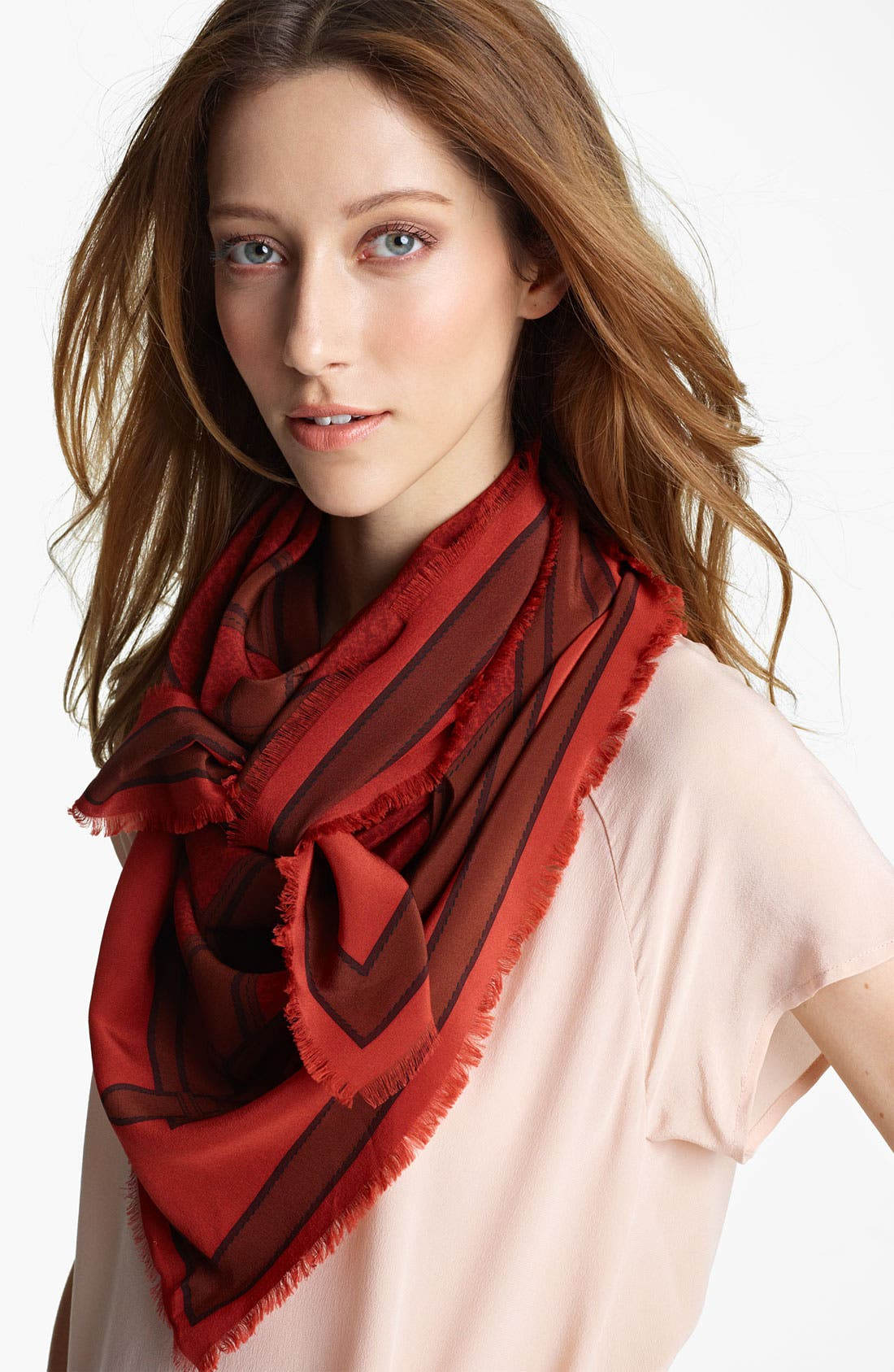 Main Image - Burberry Silk Scarf