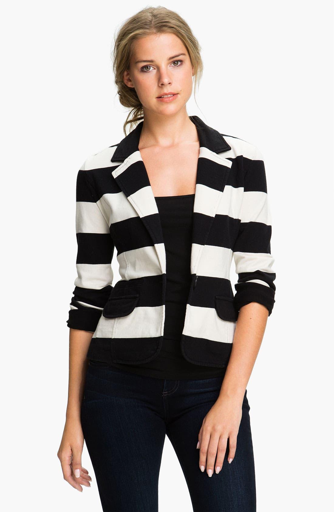 Alternate Image 1 Selected - Caslon® Blazer, Vince Camuto Pants & Halogen® Top