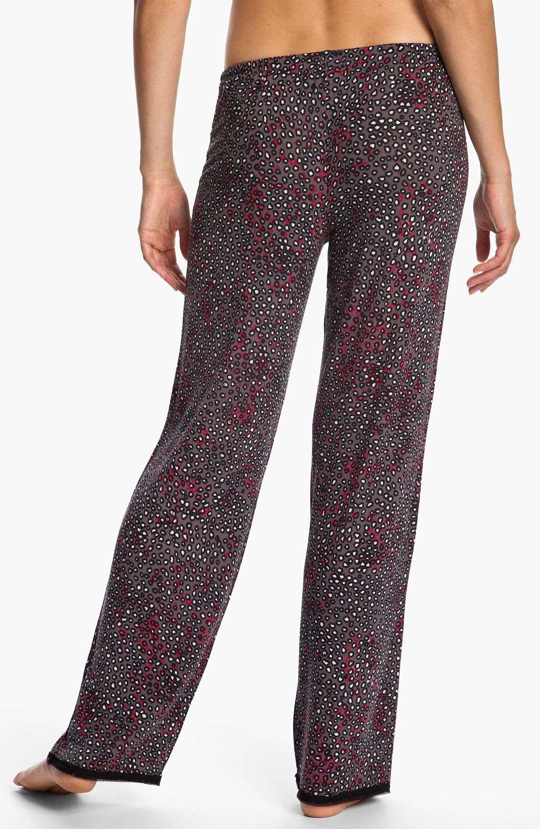Alternate Image 2  - DKNY 'Sheer Bliss' Lounge Pants