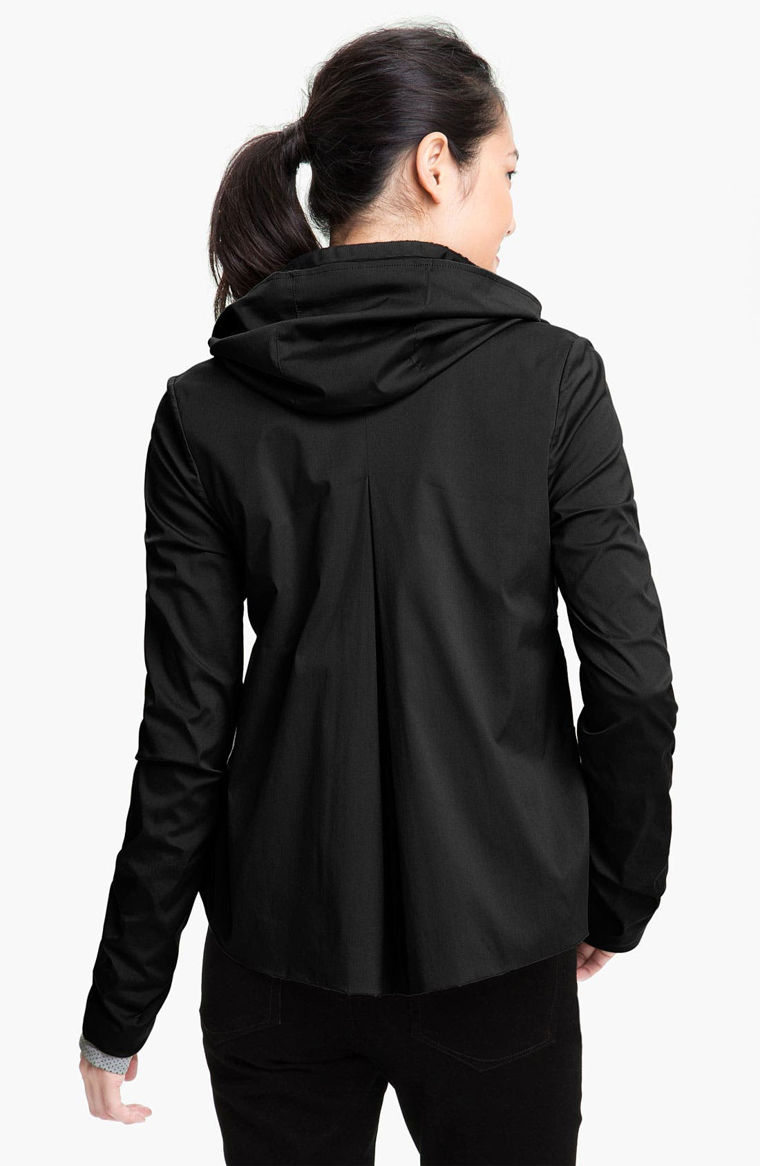 Alternate Image 2  - Wraphabillement Hooded A-Line Jacket (Online Exclusive)