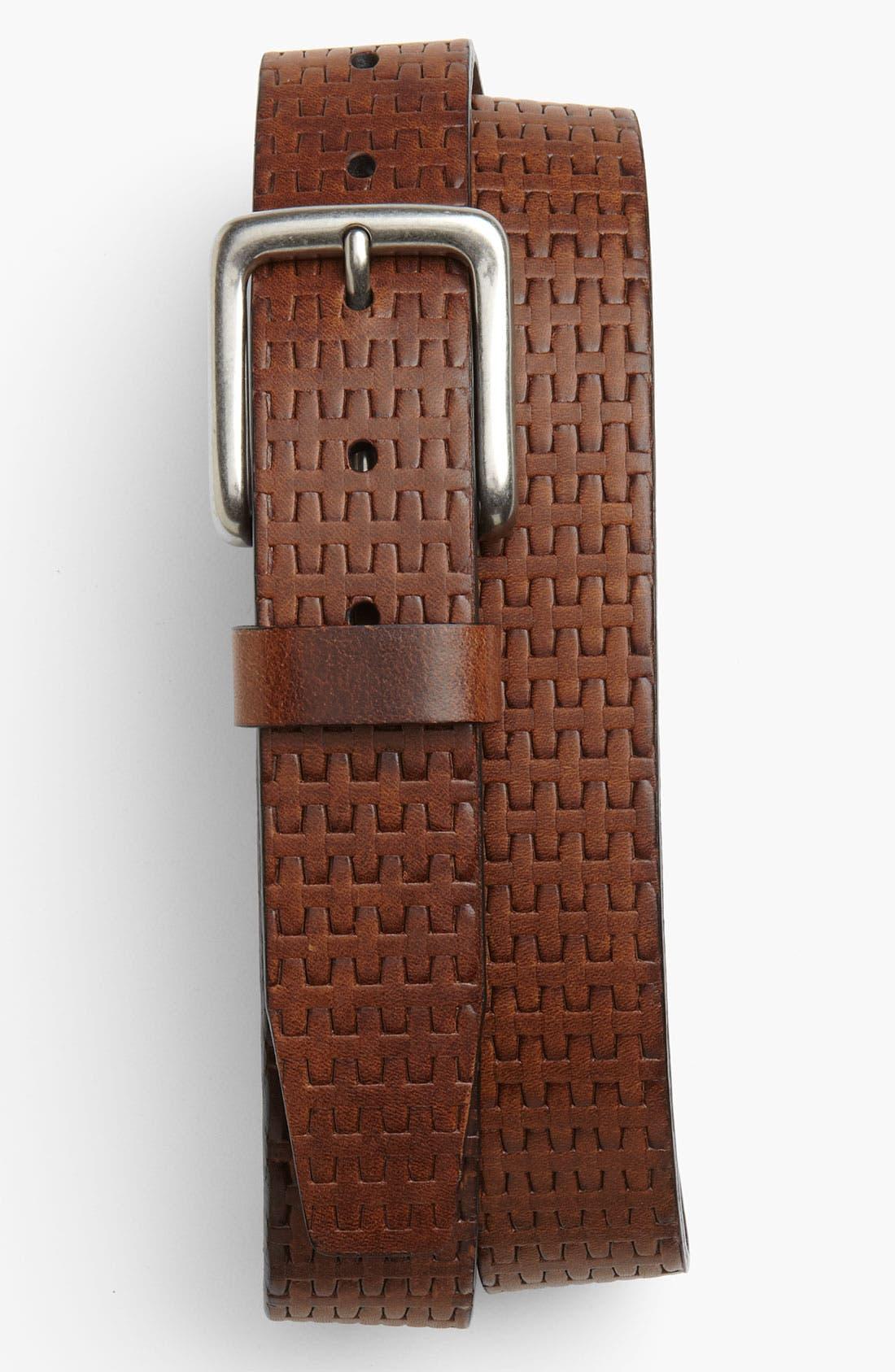 Alternate Image 1 Selected - Tommy Bahama 'Stefan' Leather Belt