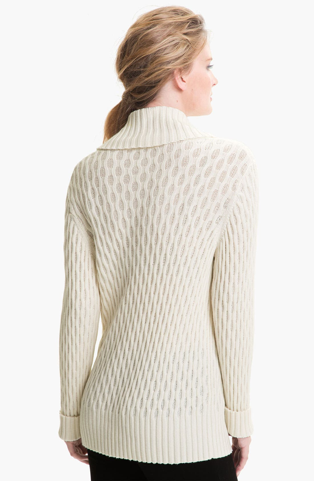 Alternate Image 2  - Lafayette 148 New York Cowl Neck Sweater