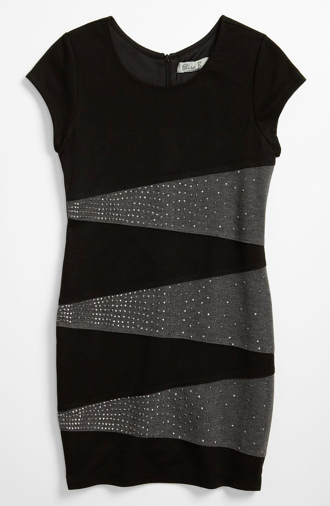 Alternate Image 1 Selected - Elisa B Knit Dress (Big Girls)