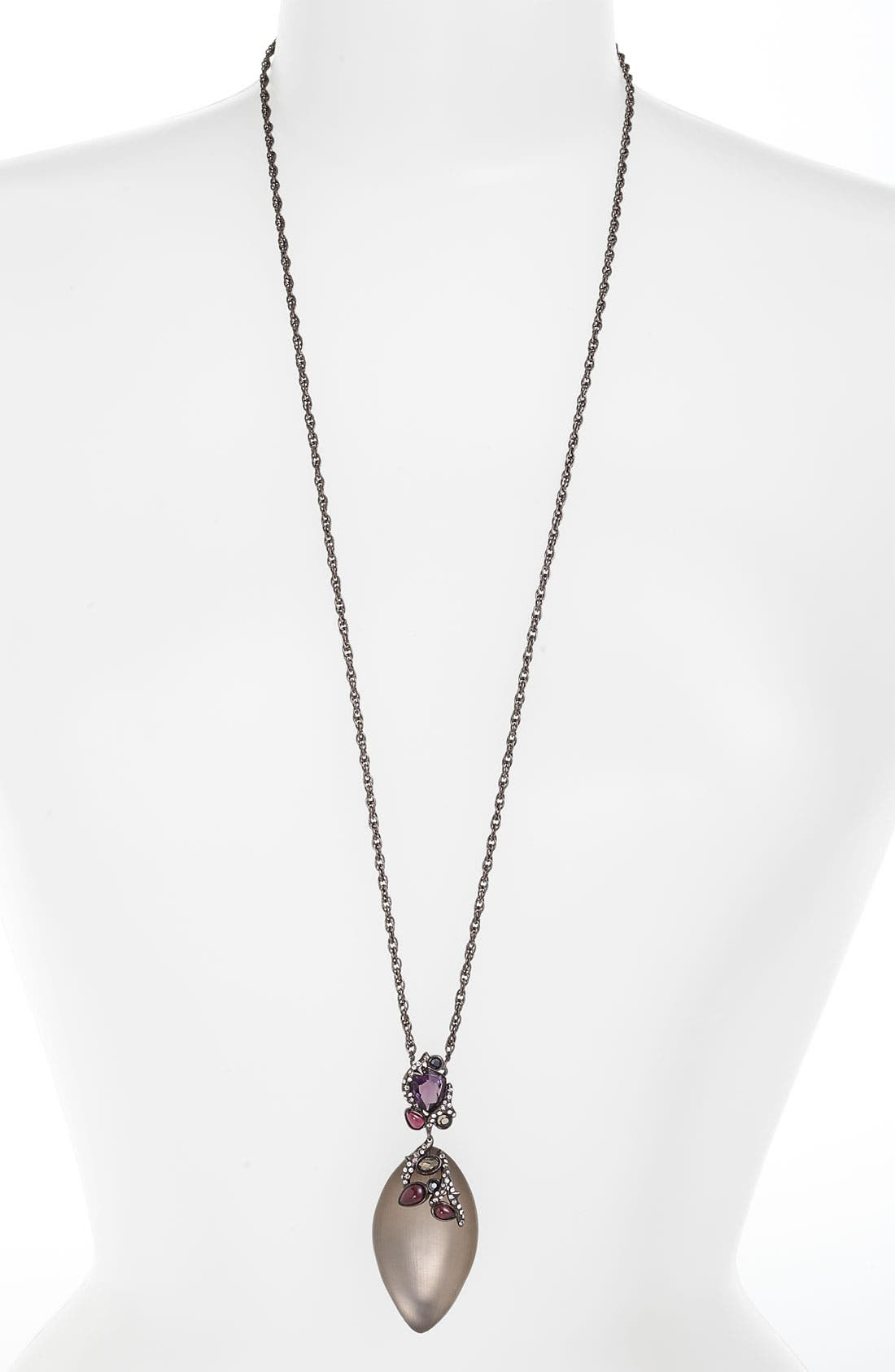 Alternate Image 1 Selected - Alexis Bittar 'Allegory' Gem Clustered Pendant Necklace (Nordstrom Exclusive)
