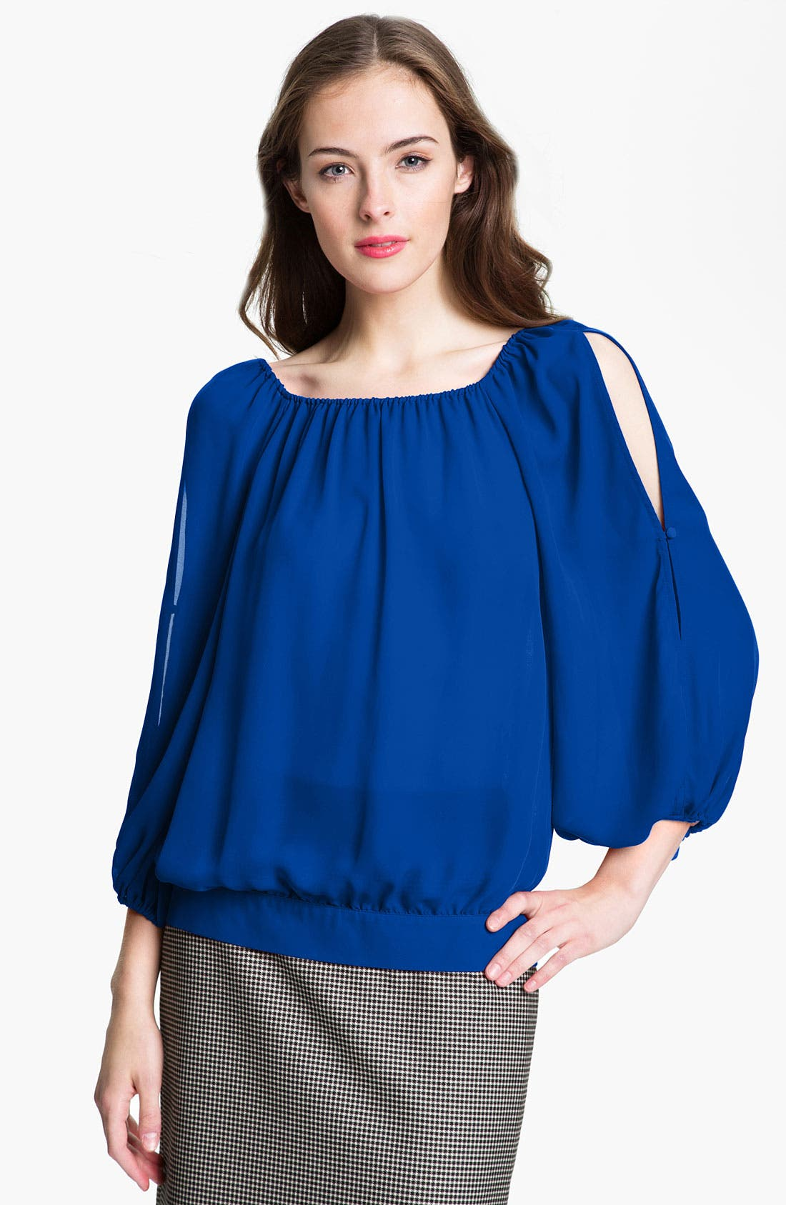 Main Image - Vince Camuto Split Sleeve Blouse