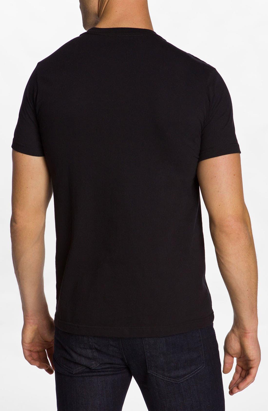 'Rottweiler' T-Shirt,                             Alternate thumbnail 2, color,                             Black