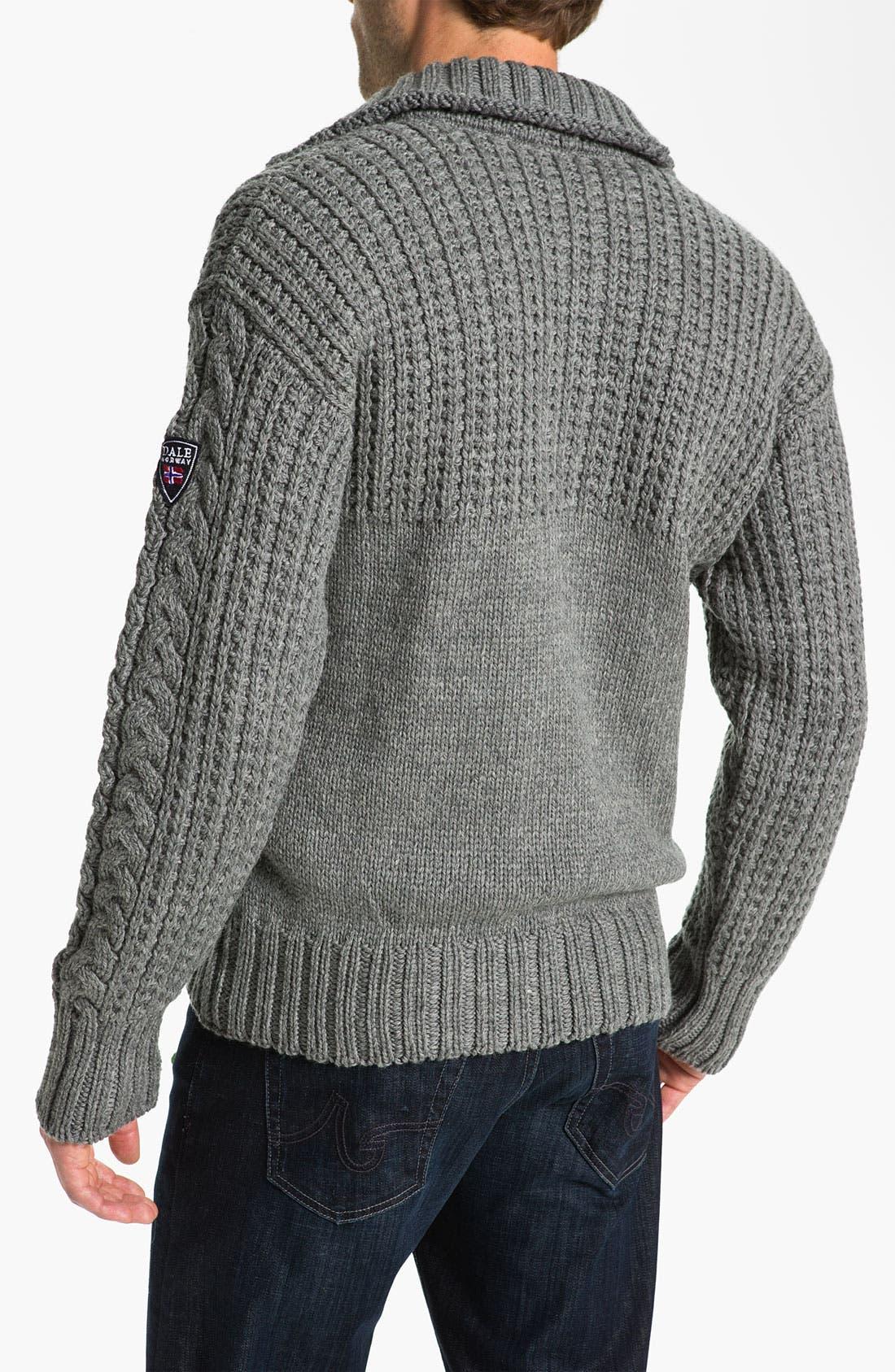 Alternate Image 2  - Dale of Norway 'Fram'  Wool Sweater