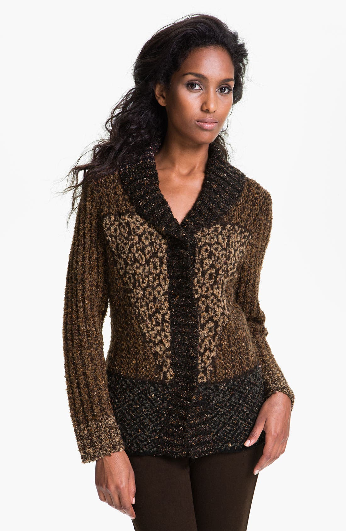 Alternate Image 1 Selected - Curio Shawl Collar Cardigan
