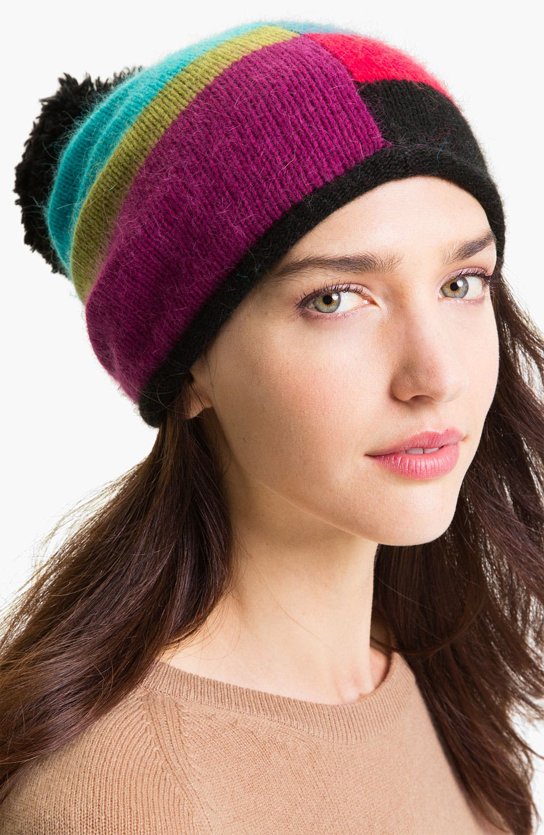 Alternate Image 1 Selected - Laundry by Shelli Segal 'Bauhaus Blocks' Slouchy Beanie