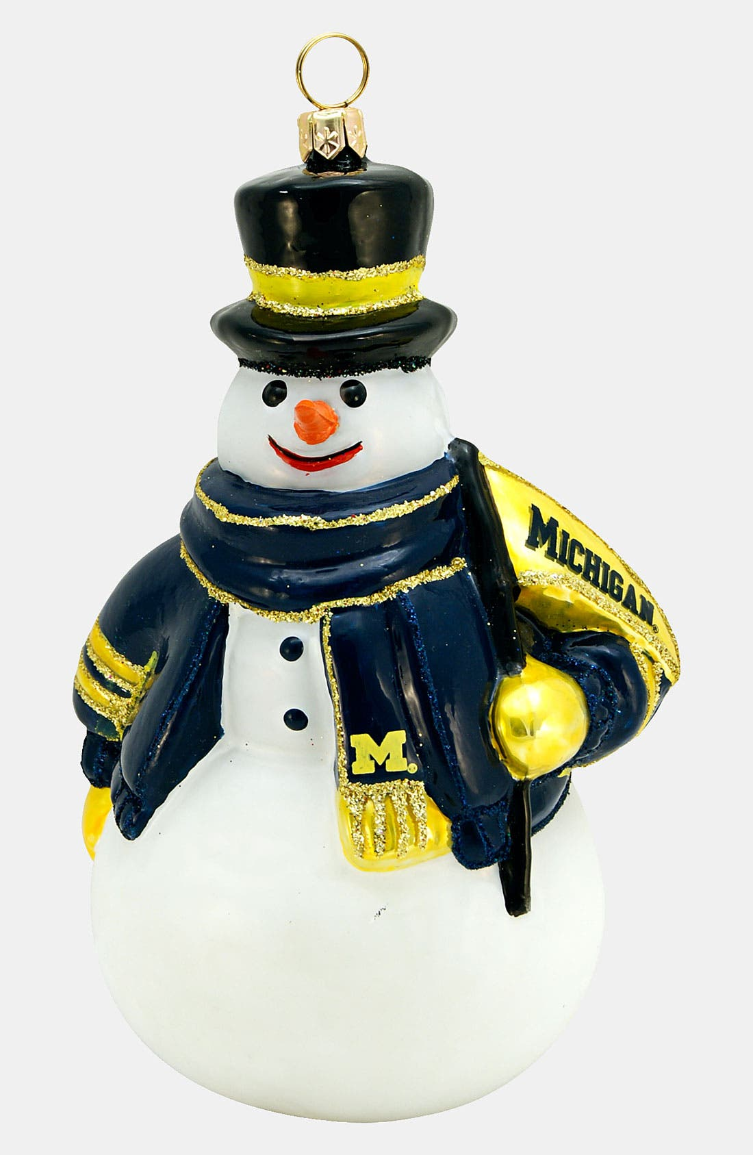 Alternate Image 1 Selected - Joy to the World Collectibles 'Michigan Snowman' Ornament