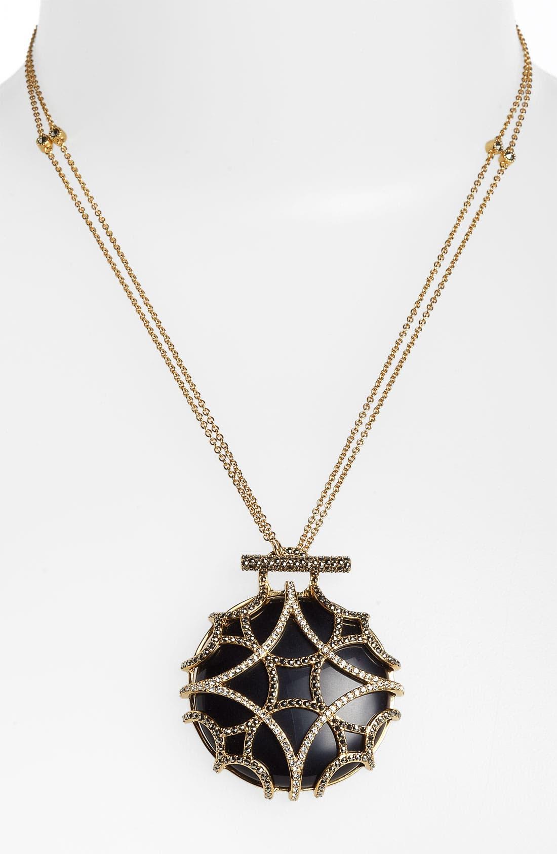 Alternate Image 1 Selected - Judith Jack 'Matrix' Long Convertible Pendant Necklace