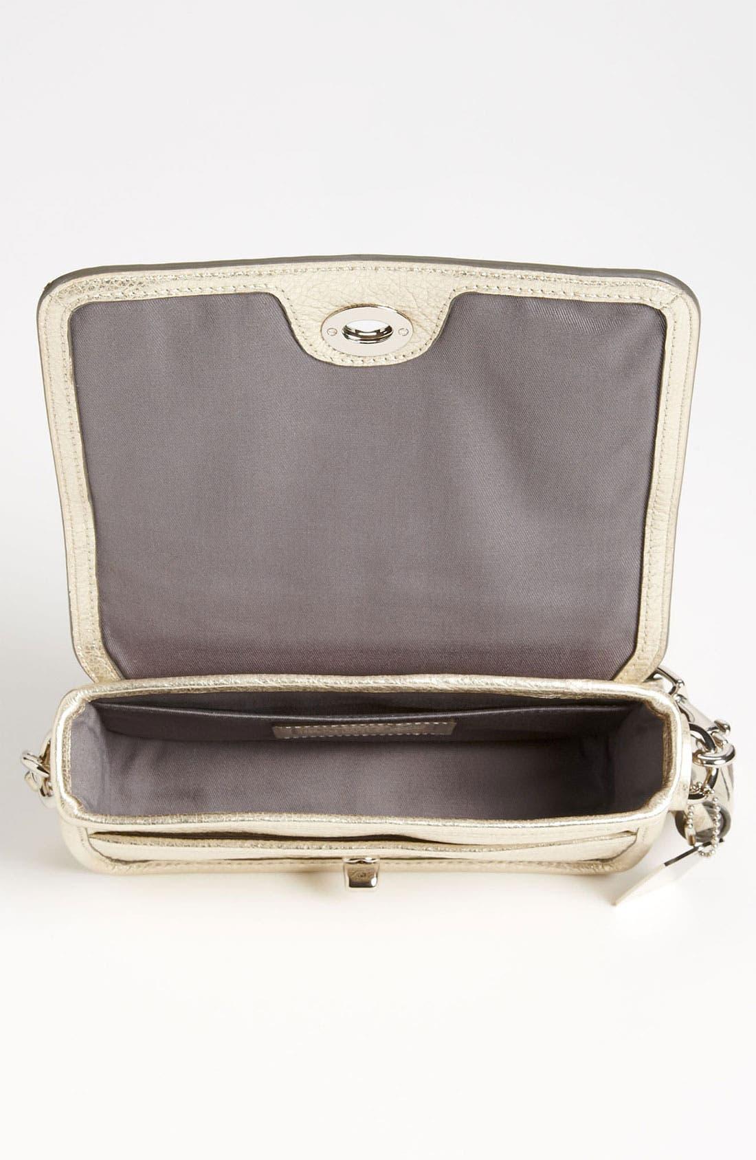 Alternate Image 3  - COACH 'Legacy - Penny' Metallic Leather Crossbody Bag
