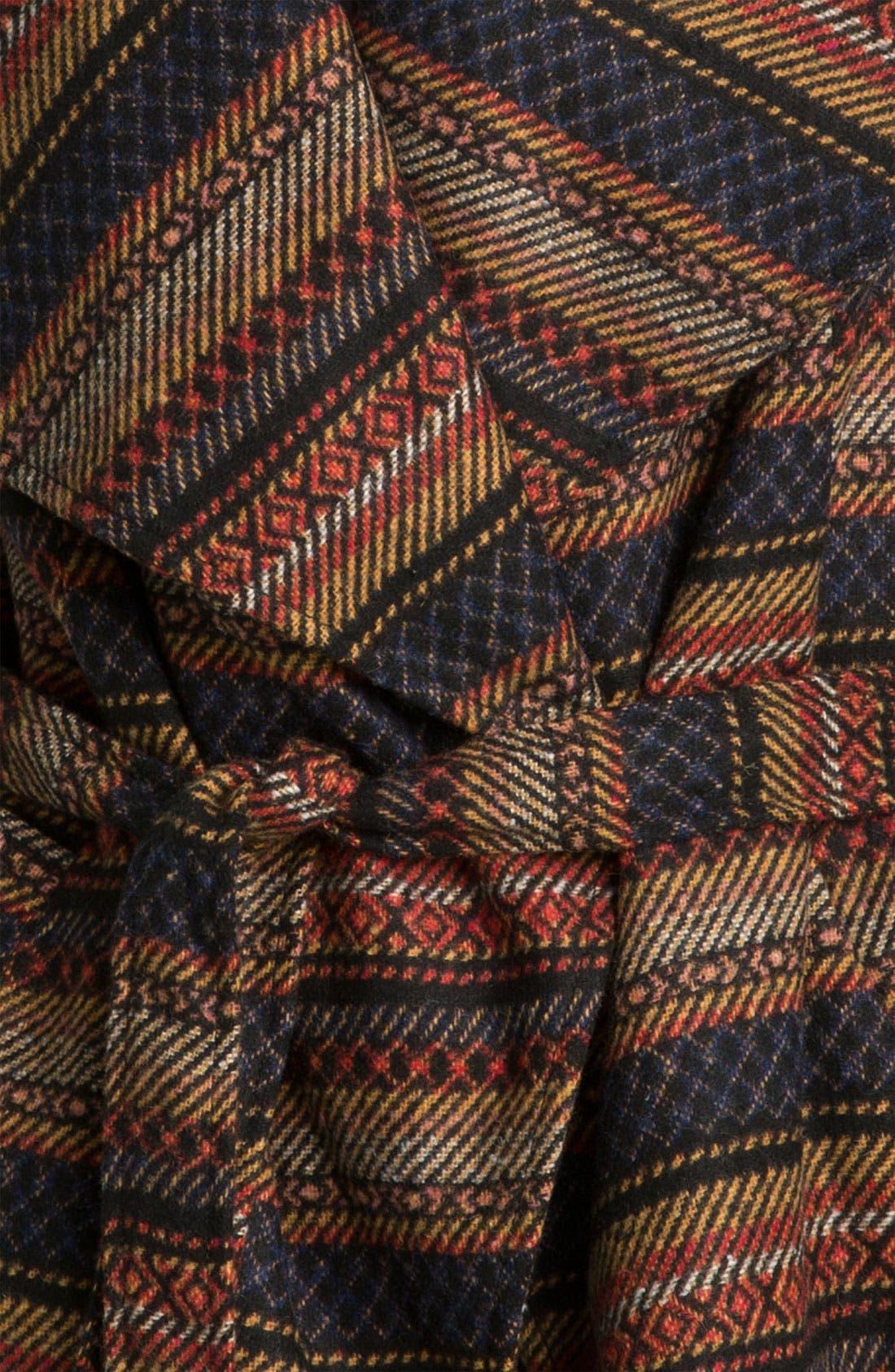 Alternate Image 3  - Jack Southwestern Blanket Coat (Juniors)