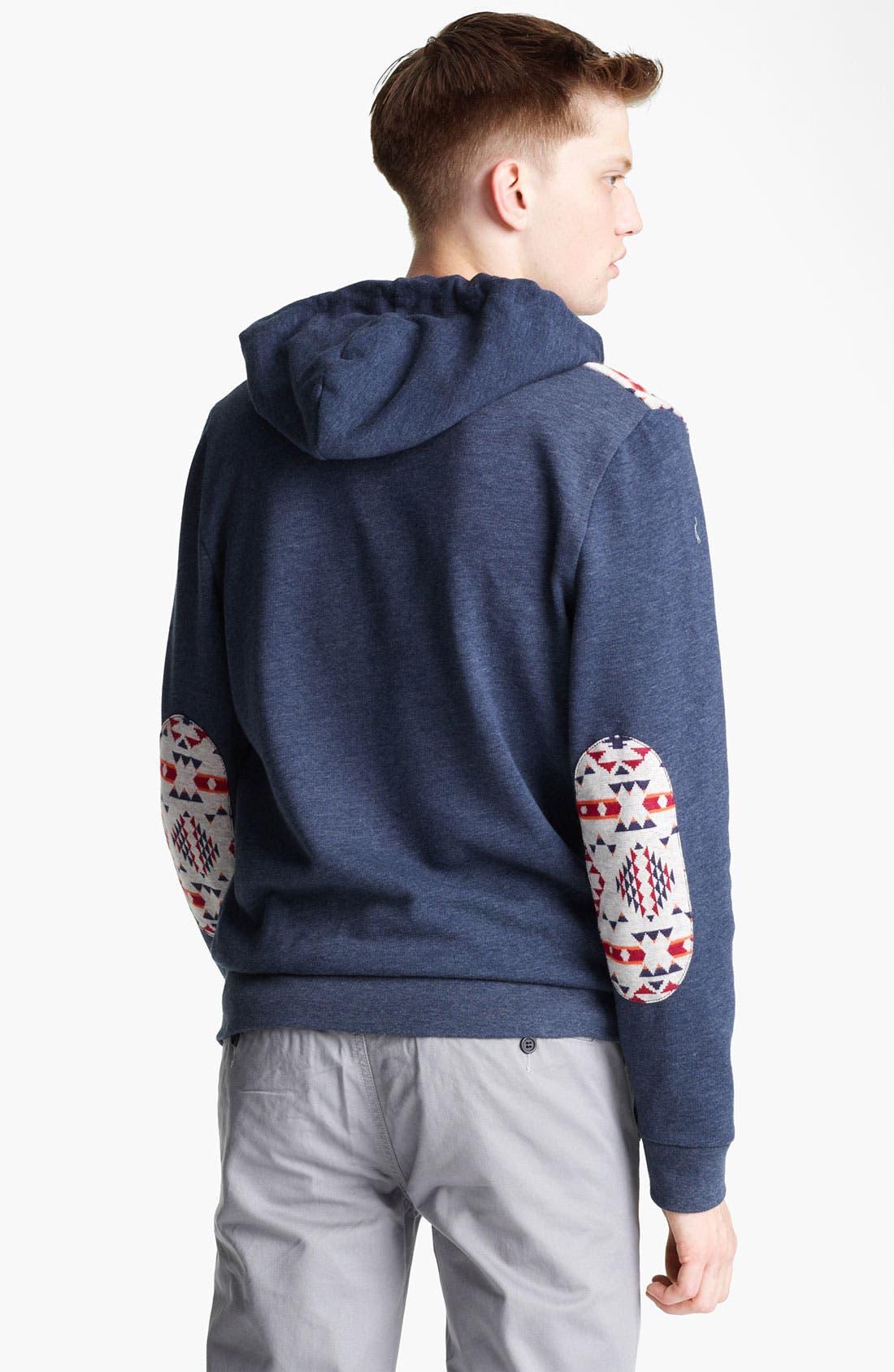 Alternate Image 2  - Topman Marl Pattern Hoodie