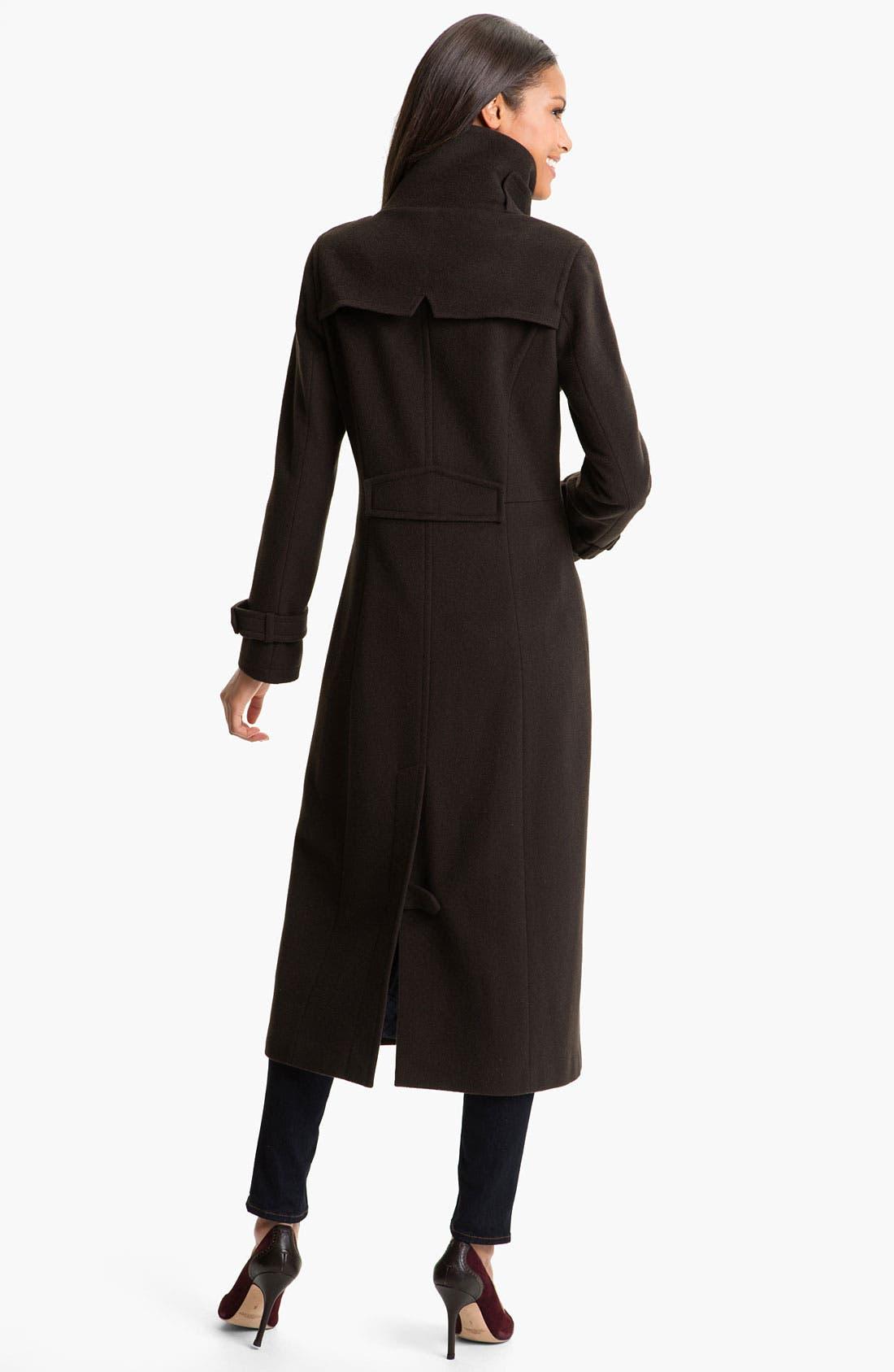 Alternate Image 2  - RAINFOREST Long Wool & Cashmere Coat
