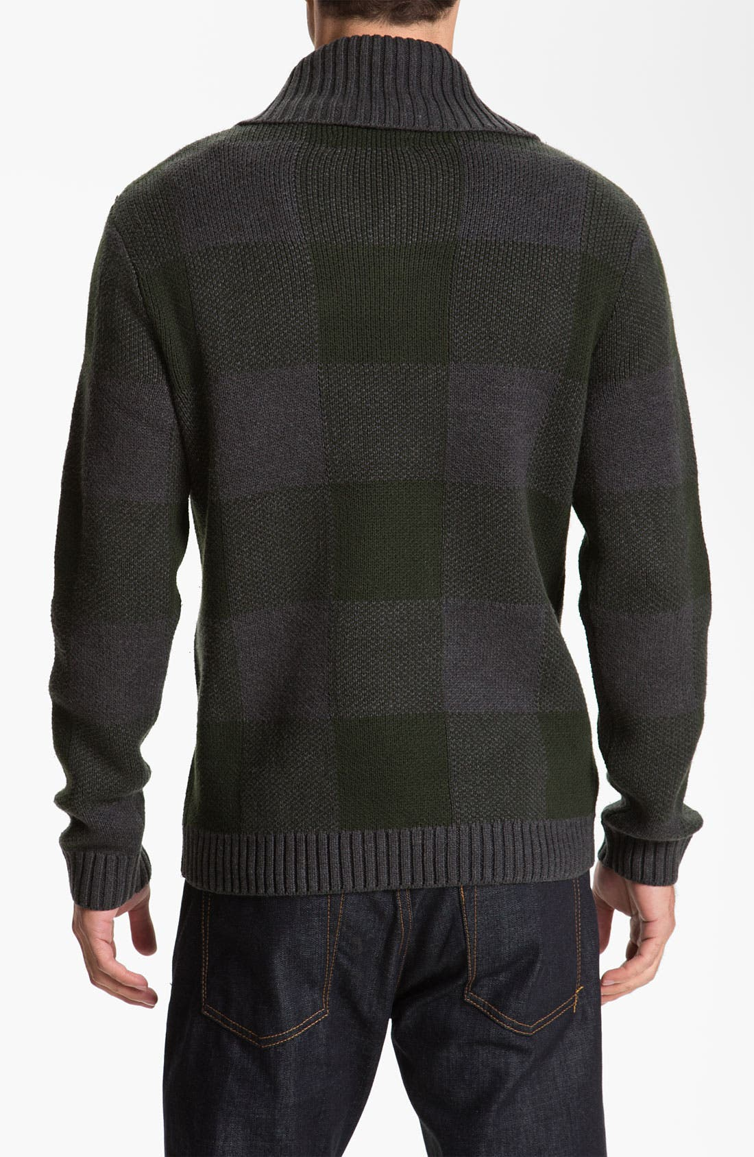 Alternate Image 2  - Original Penguin Shawl Collar Sweater