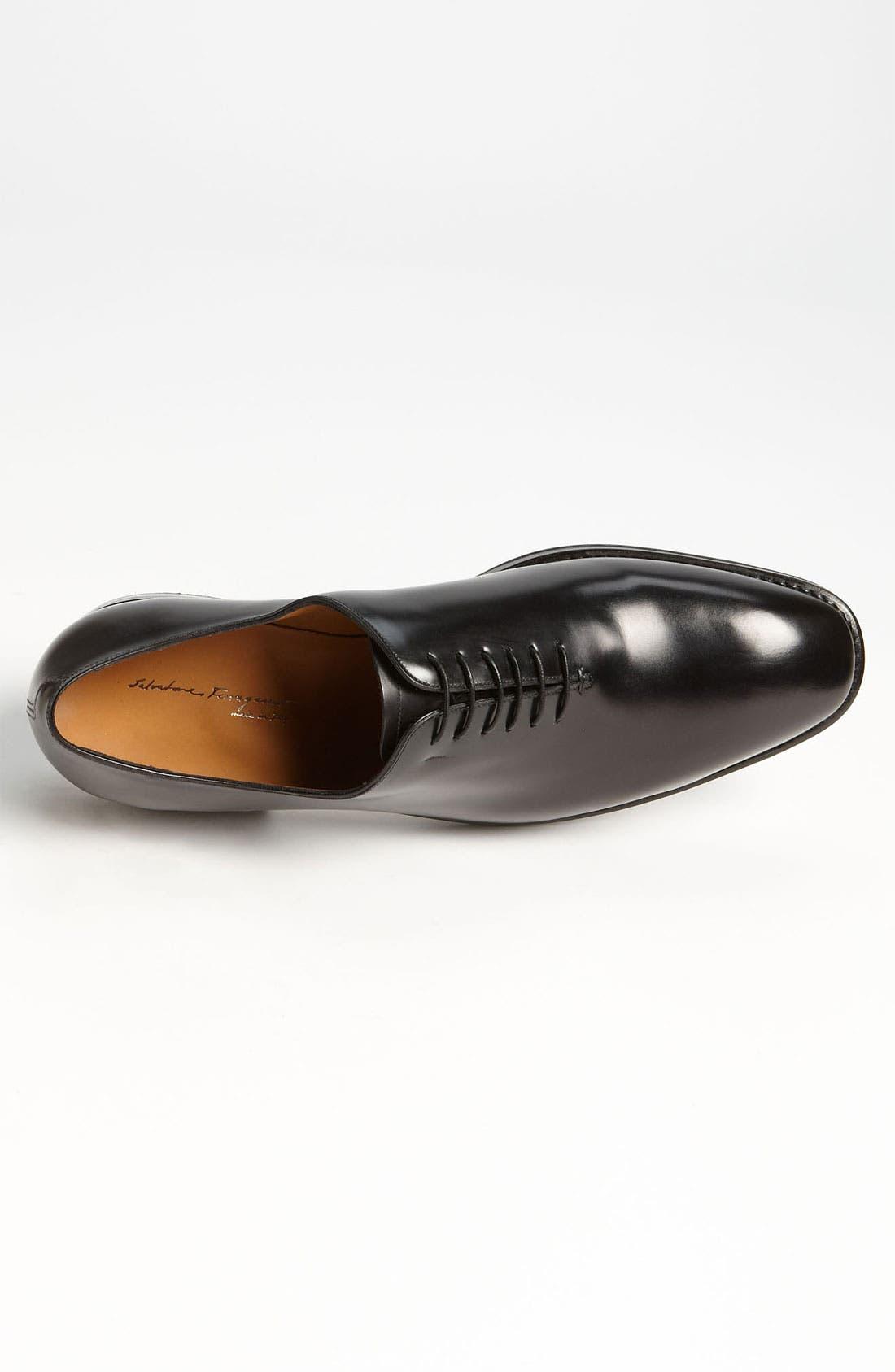Alternate Image 3  - Salvatore Ferragamo 'Carmelo' Plain Toe Oxford