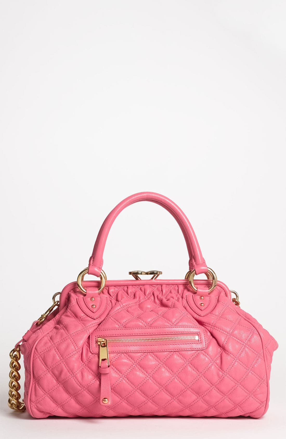 Main Image - MARC JACOBS 'Quilting Stam' Leather Satchel