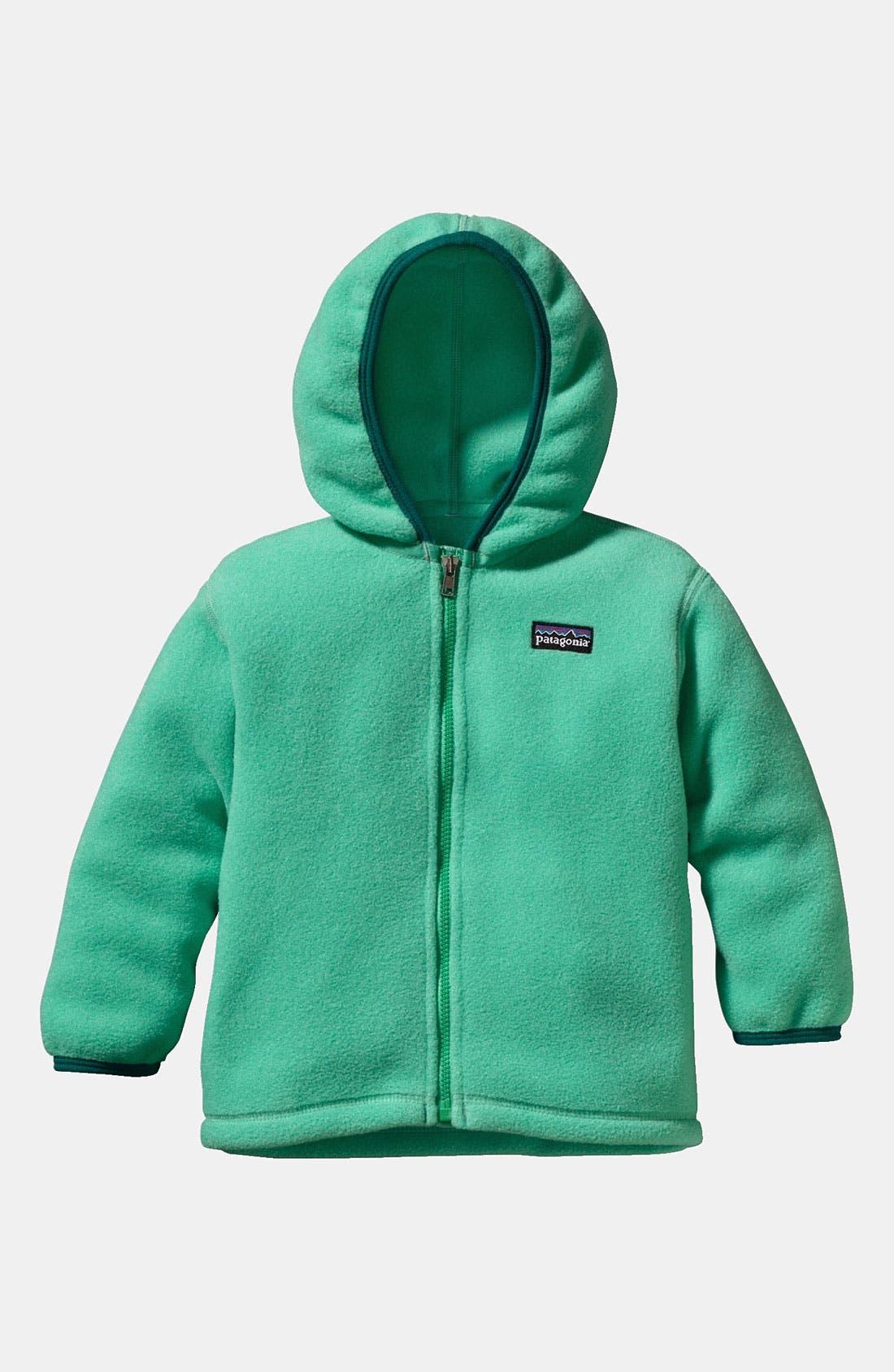 Main Image - Patagonia Hooded Fleece Cardigan (Toddler)