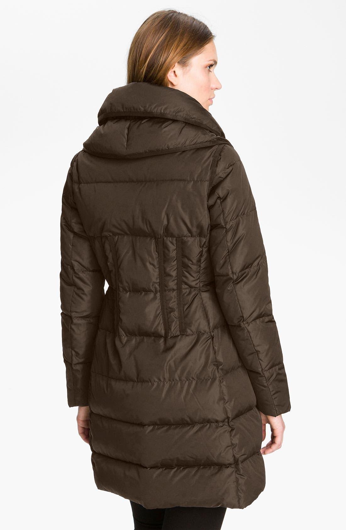 Alternate Image 2  - Moncler 'Chou' Zip Pocket Down Coat