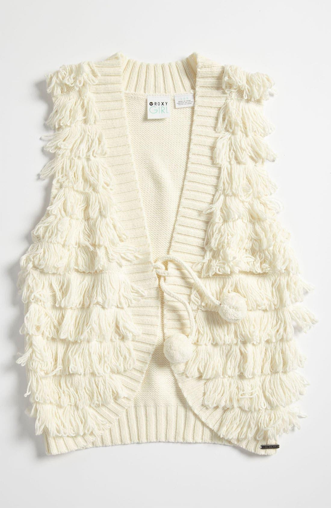 Main Image - Roxy 'Now' Vest (Big Girls)