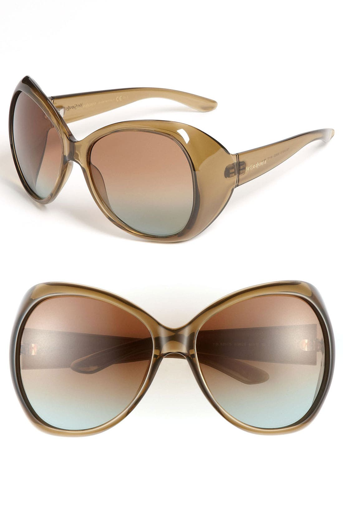 Main Image - Yves Saint Laurent Oversized Sunglasses