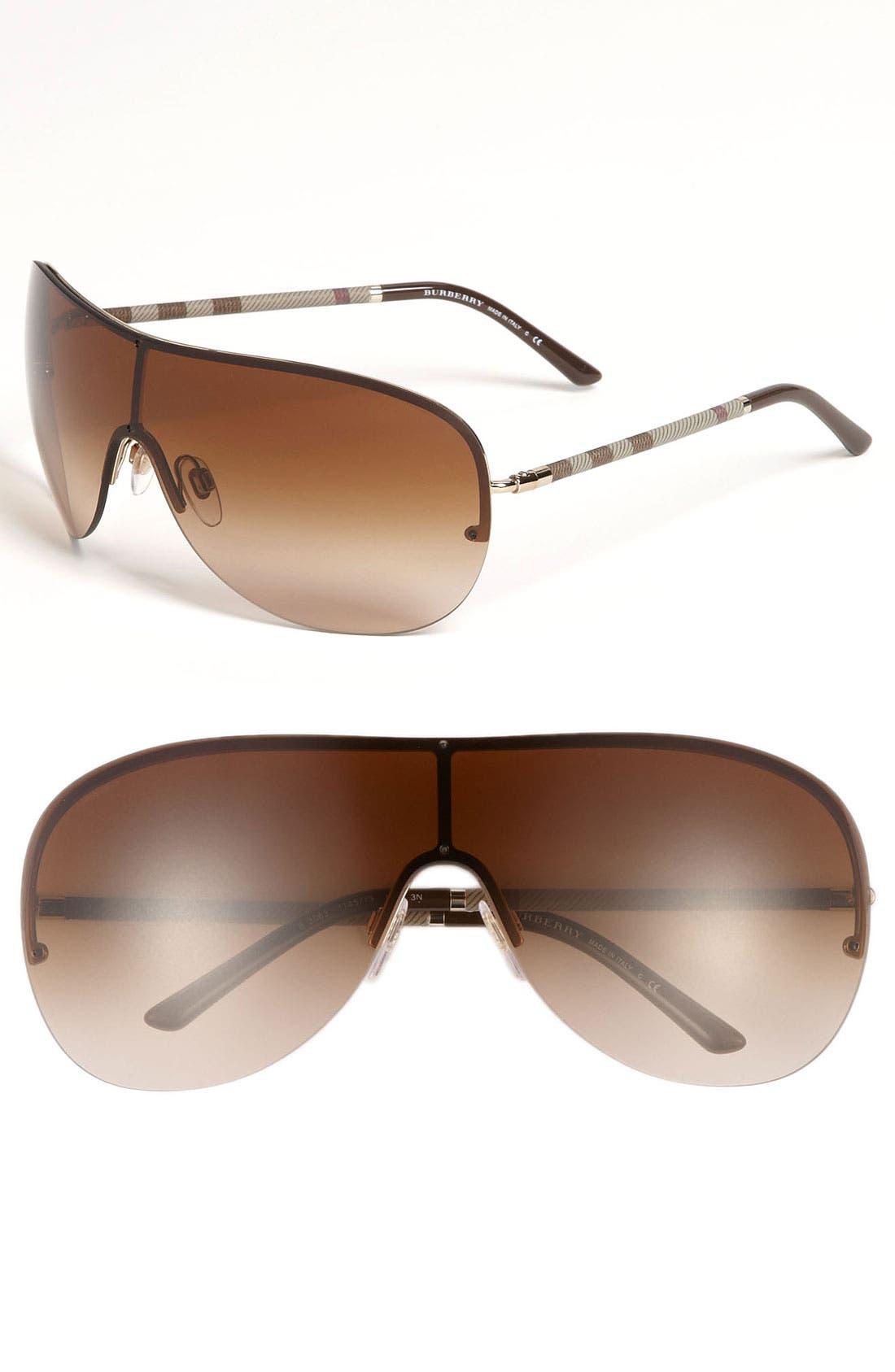 Main Image - Burberry Shield Sunglasses