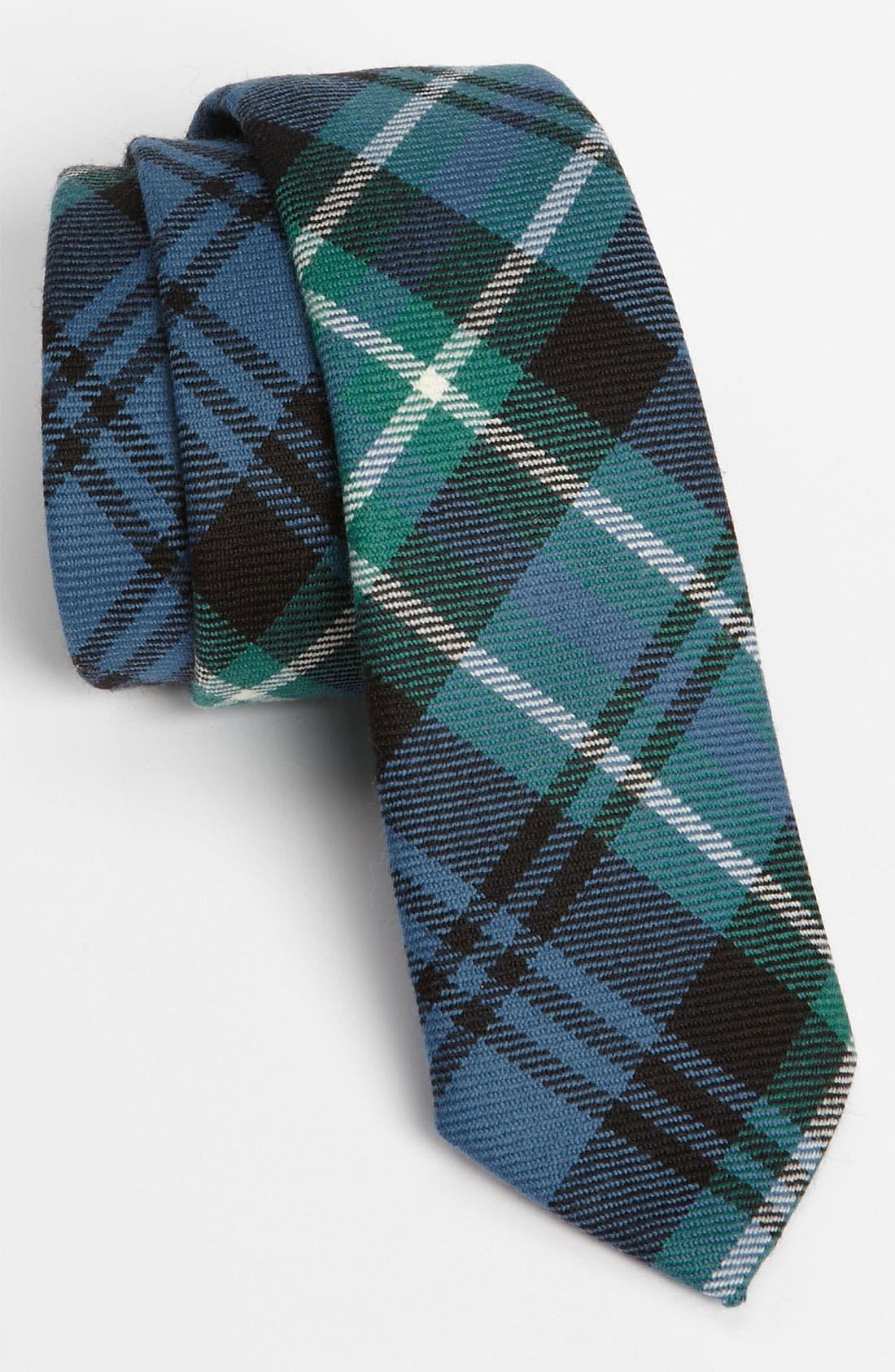 Alternate Image 1 Selected - David Hart Wool Tie
