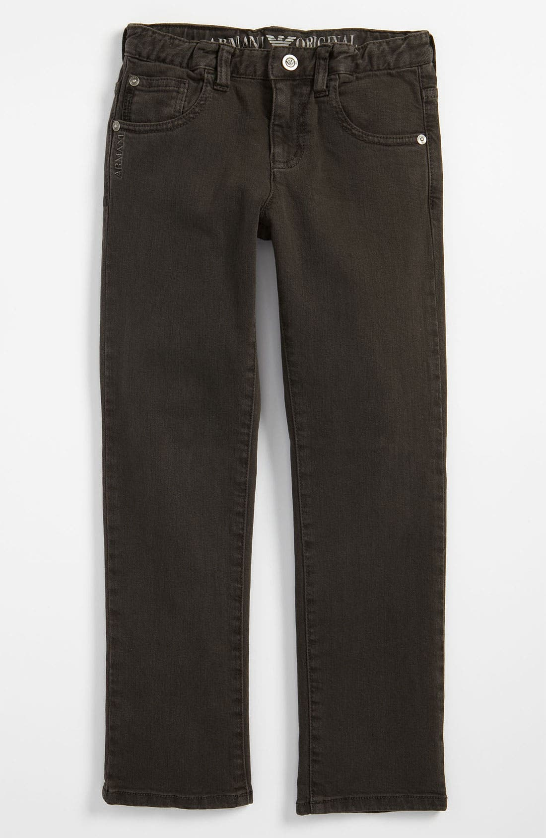 Alternate Image 2  - Armani Junior Straight Leg Jeans (Little Boys)