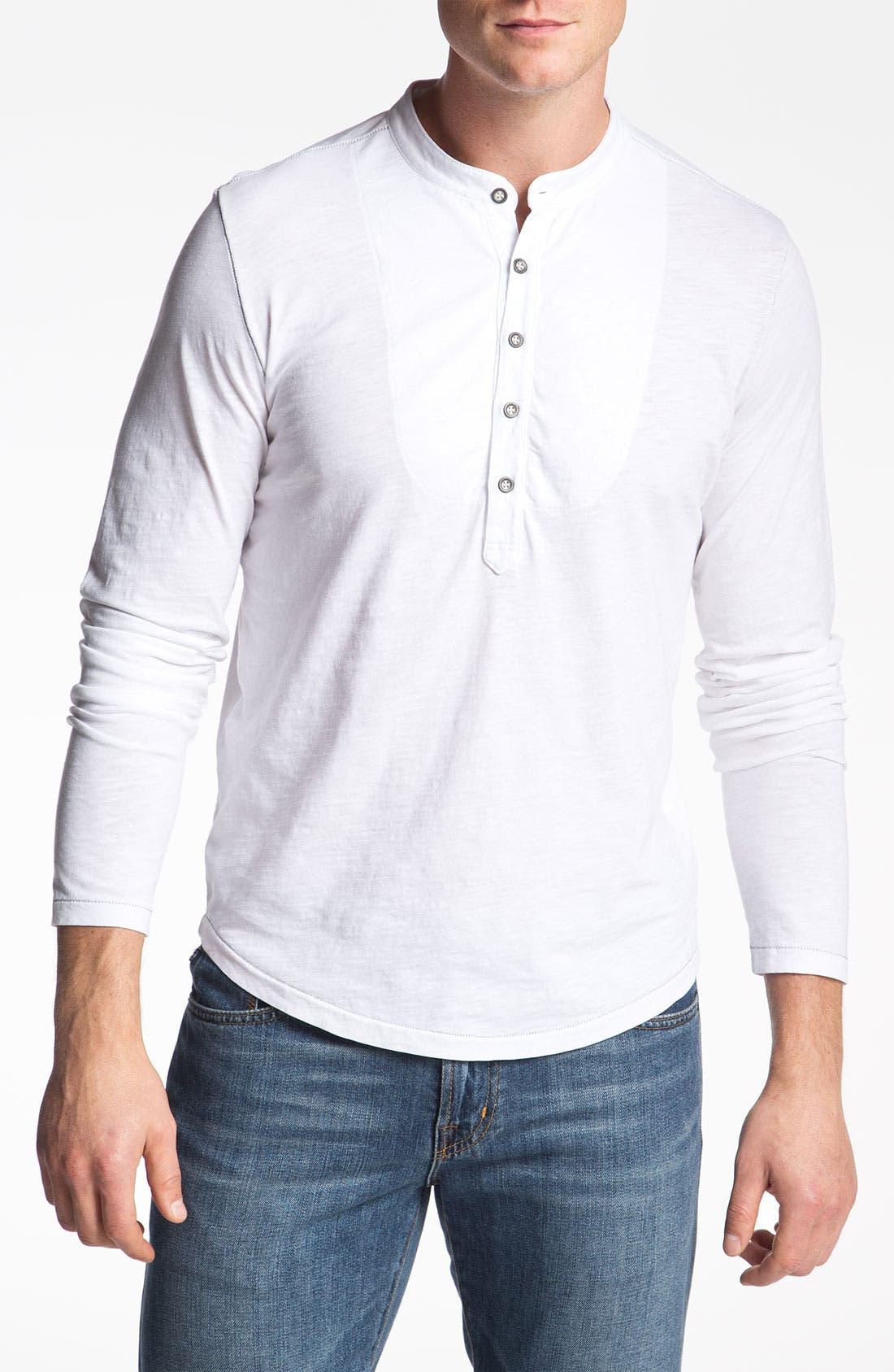 Alternate Image 1 Selected - AG Jeans Long Sleeve Henley