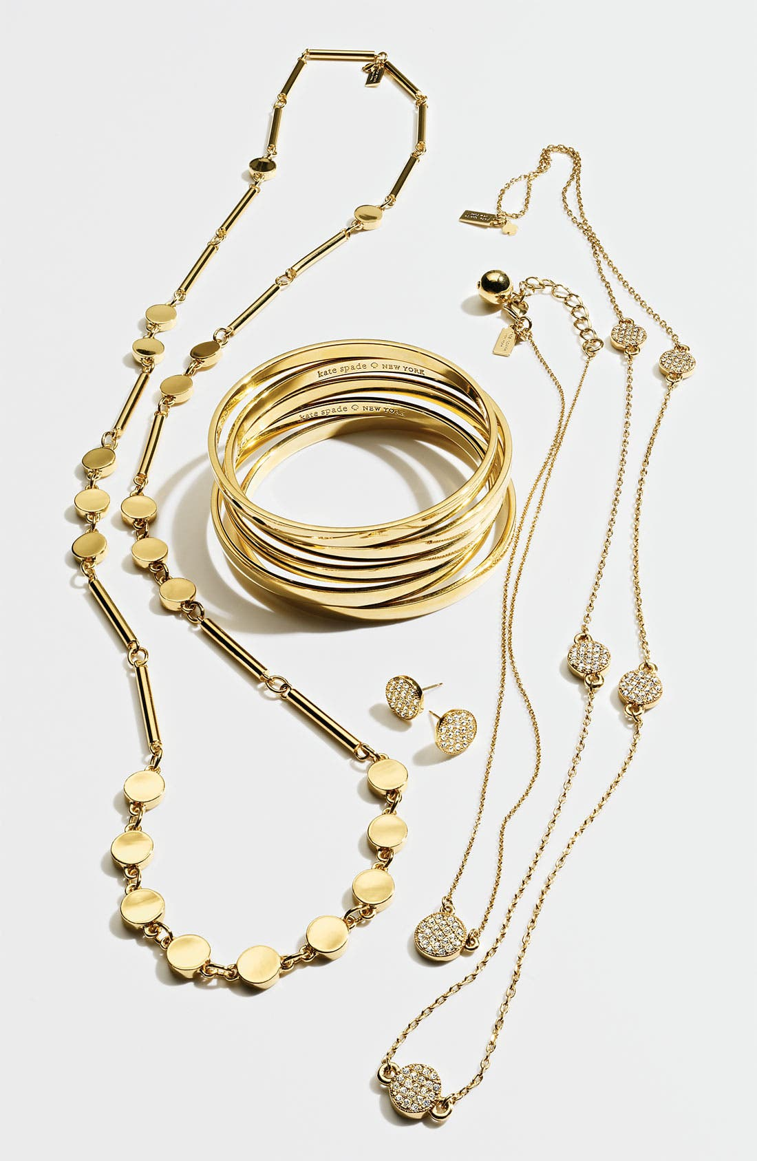 Alternate Image 2  - kate spade new york 'bright spot' long station necklace