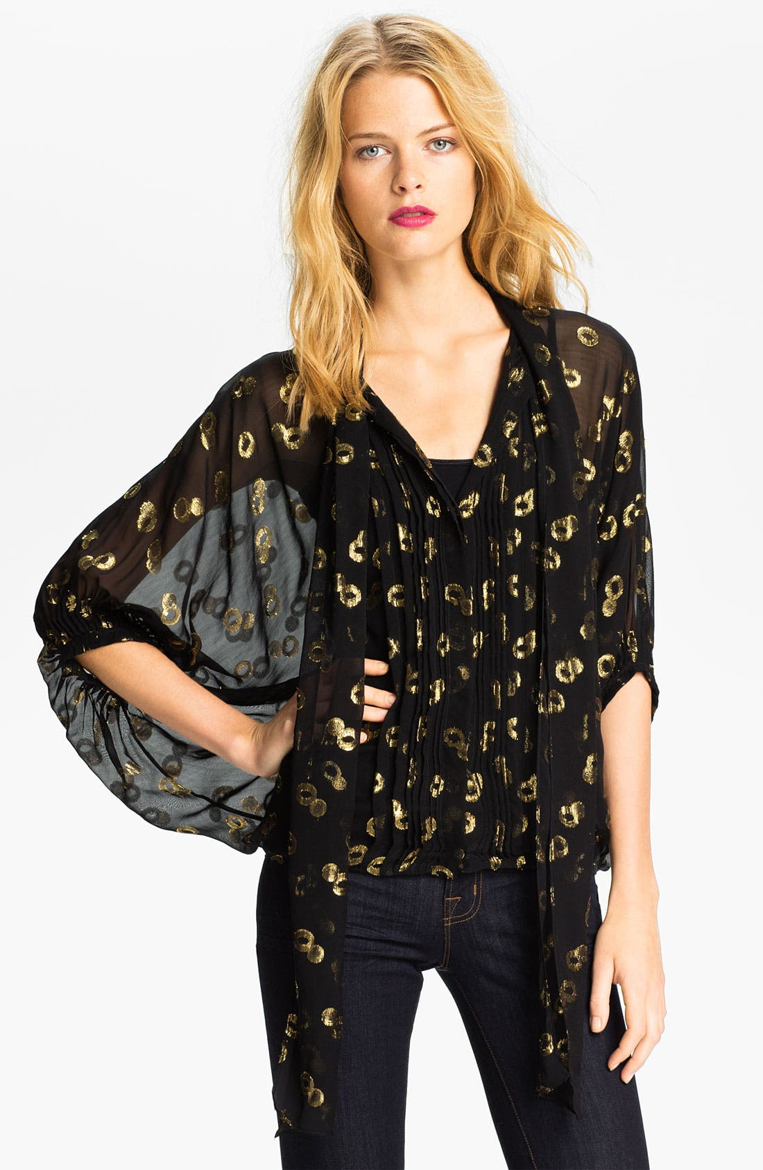 Alternate Image 1 Selected - Diane von Furstenberg 'Joanne' Blouse