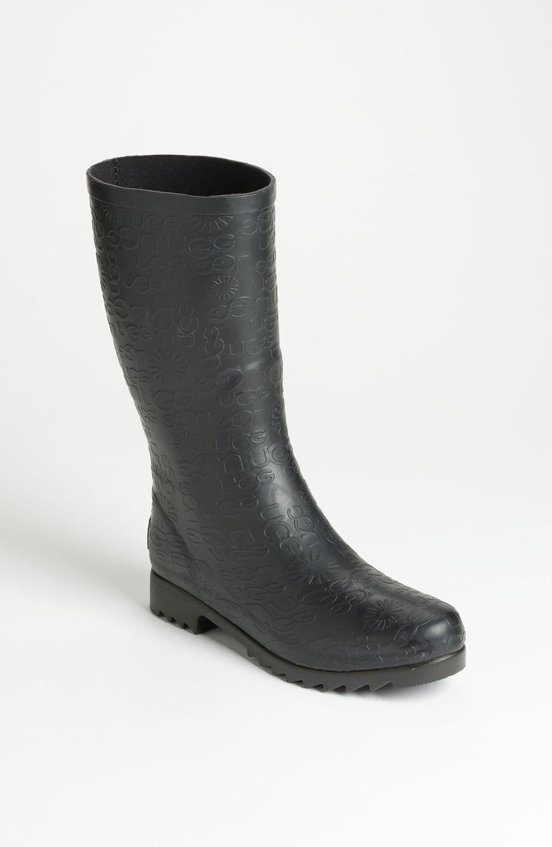 Alternate Image 1 Selected - UGG® Australia 'Wilshire Logo' Short Boot (Women)