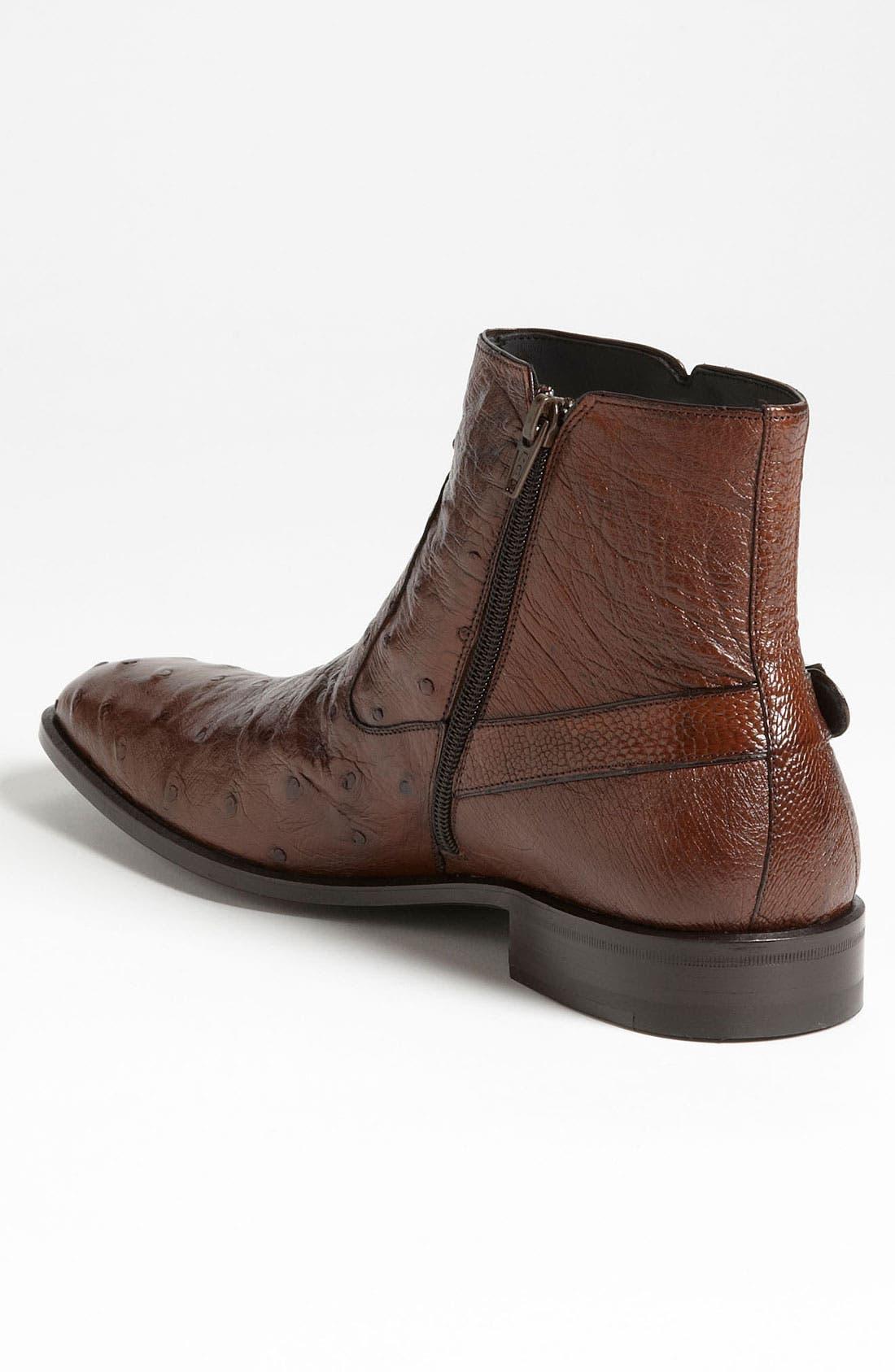 Alternate Image 2  - Mezlan 'Bravo' Ostrich Boot