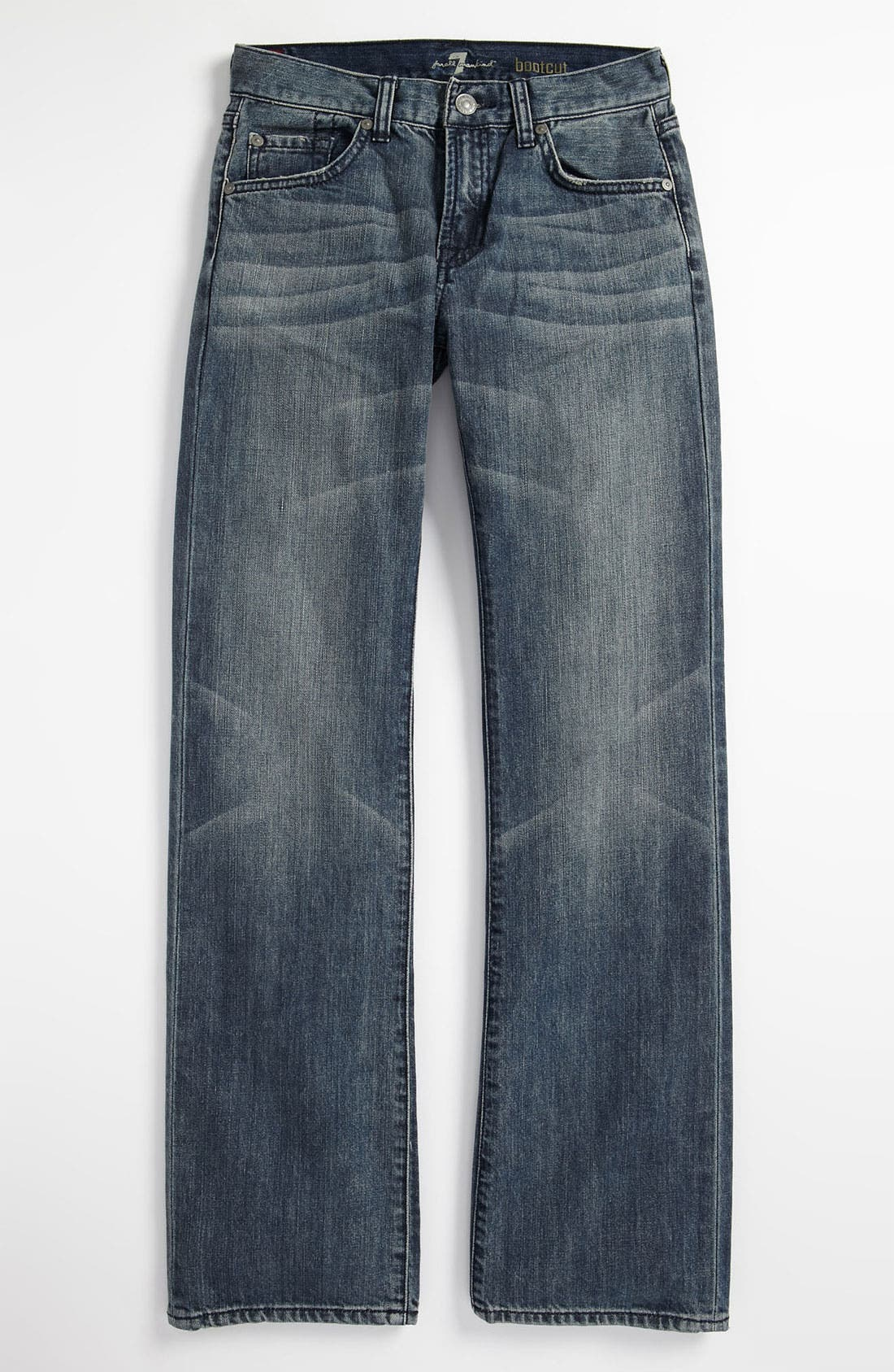 Alternate Image 2  - 7 For All Mankind® Bootcut Jeans (Little Boys)