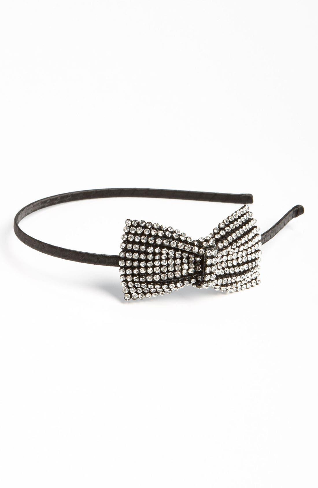 Alternate Image 1 Selected - Cara Accessories Rhinestone Headband (Girls)