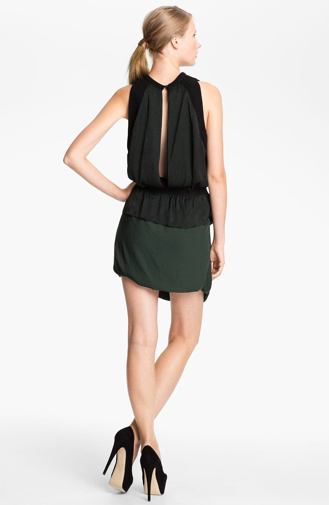 Alternate Image 2  - A.L.C. 'Safford' Ruched Jersey Dress