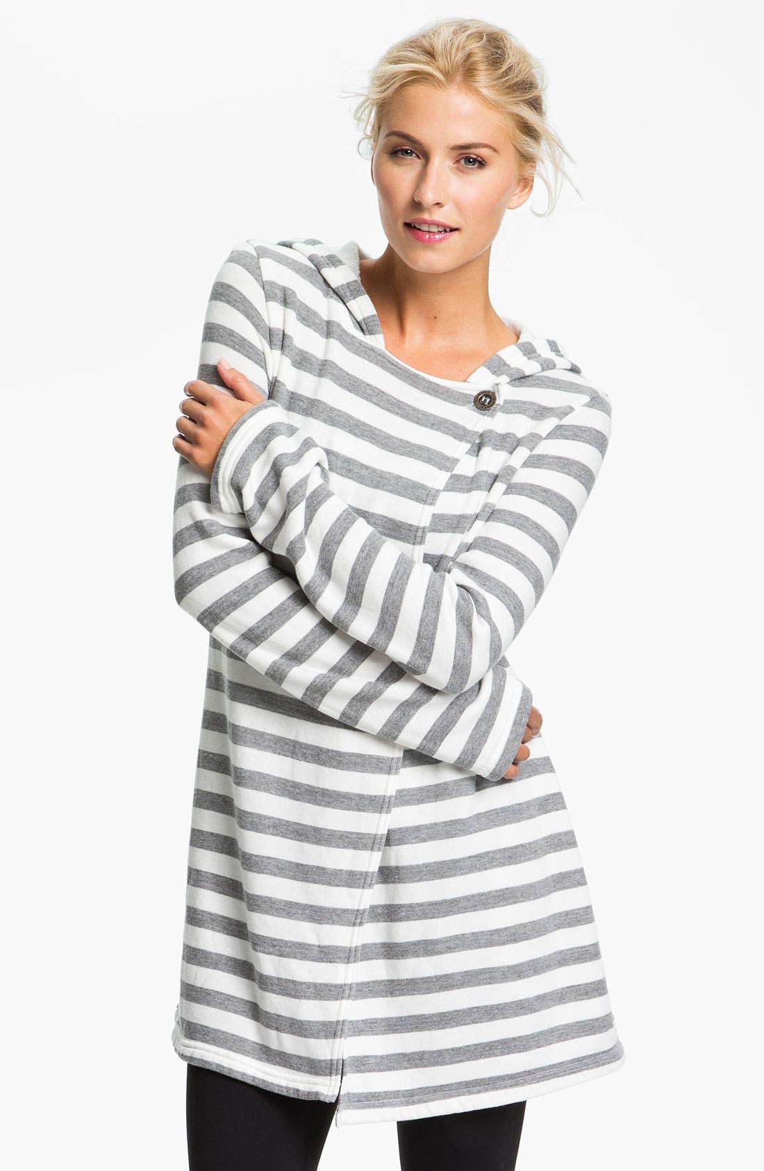 Main Image - Hard Tail Hooded Wrap Cardigan