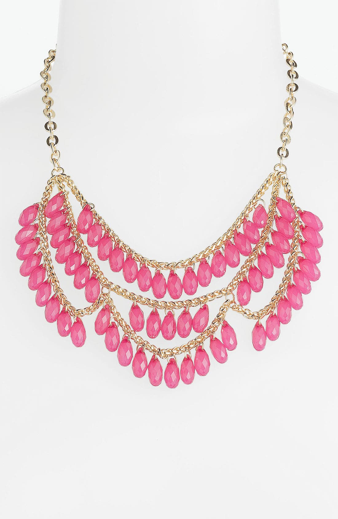 Alternate Image 1 Selected - Stephan & Co. Teardrop Bib Necklace