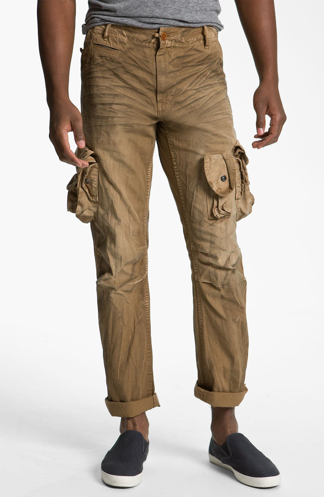 Alternate Image 1 Selected - PRPS Straight Leg Cargo Pants