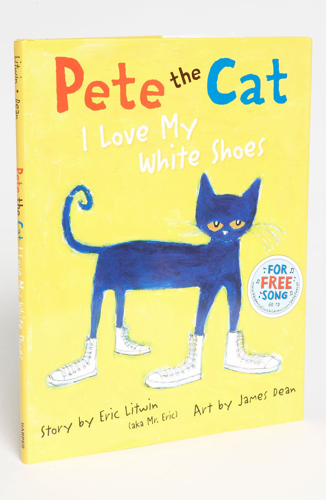 Alternate Image 1 Selected - Eric Litwin 'Pete the Cat: I Love My White Shoes' Book
