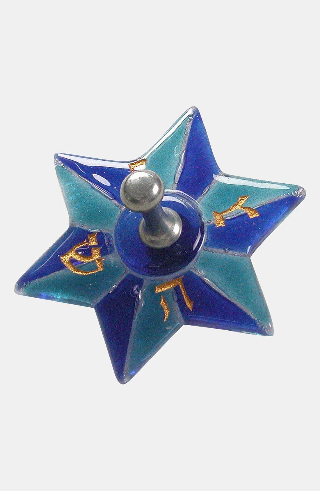 Main Image - Simple Touch Blue Aqua Star Dreidel