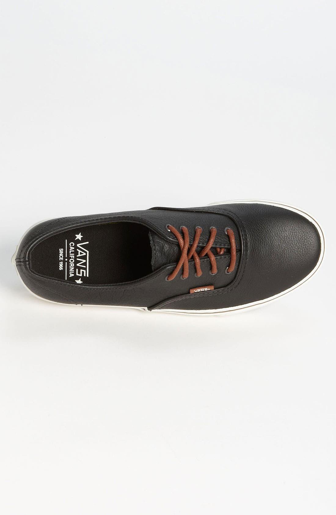 Alternate Image 3  - Vans 'Cali - Authentic Decon' Leather Sneaker (Men)
