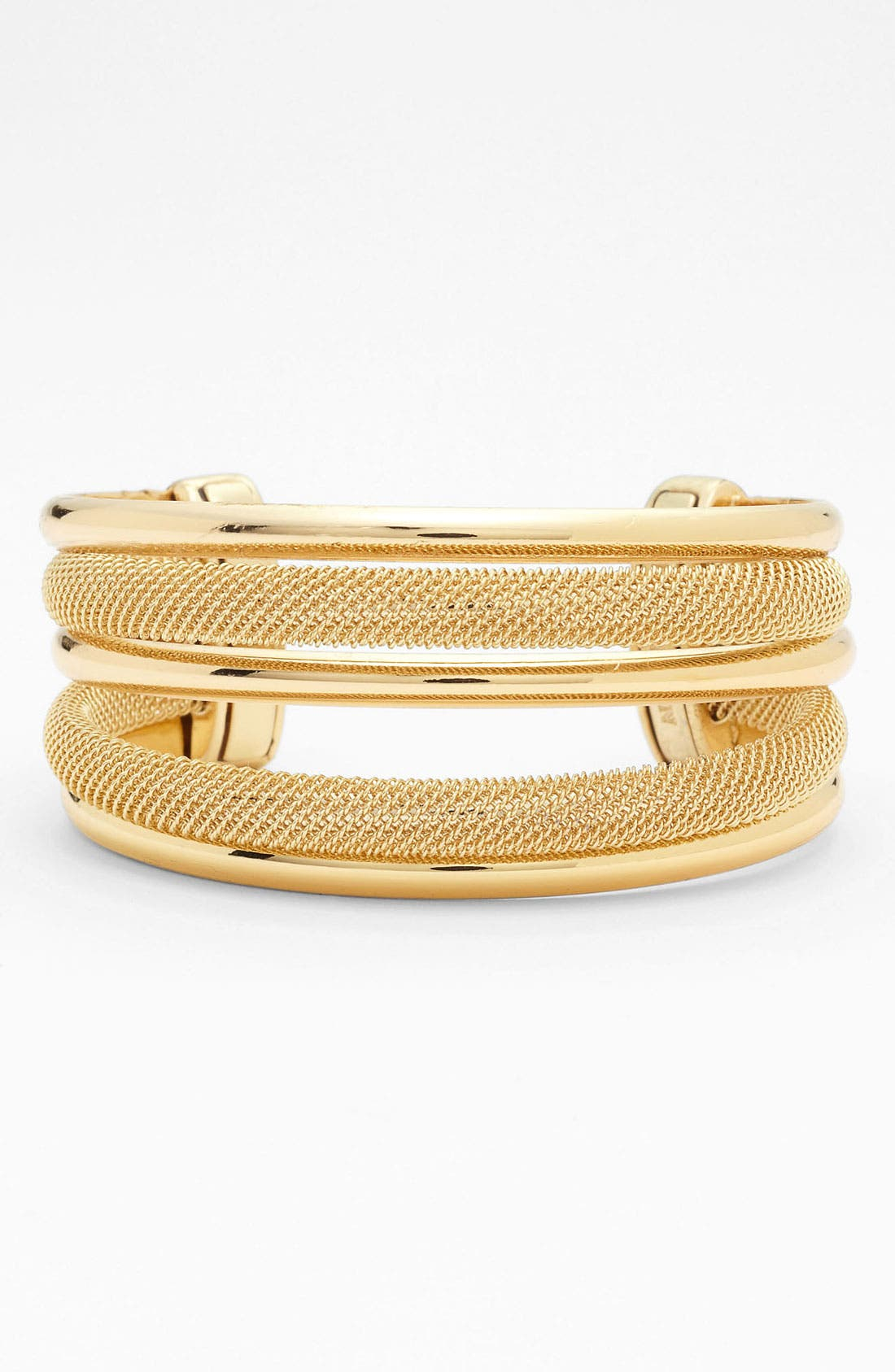 Alternate Image 1 Selected - Anne Klein Multi Row Cuff