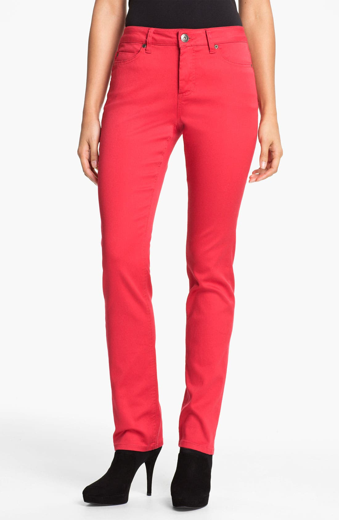Alternate Image 1 Selected - Liverpool Jeans Company 'Sadie' Colored Straight Leg Stretch Jeans