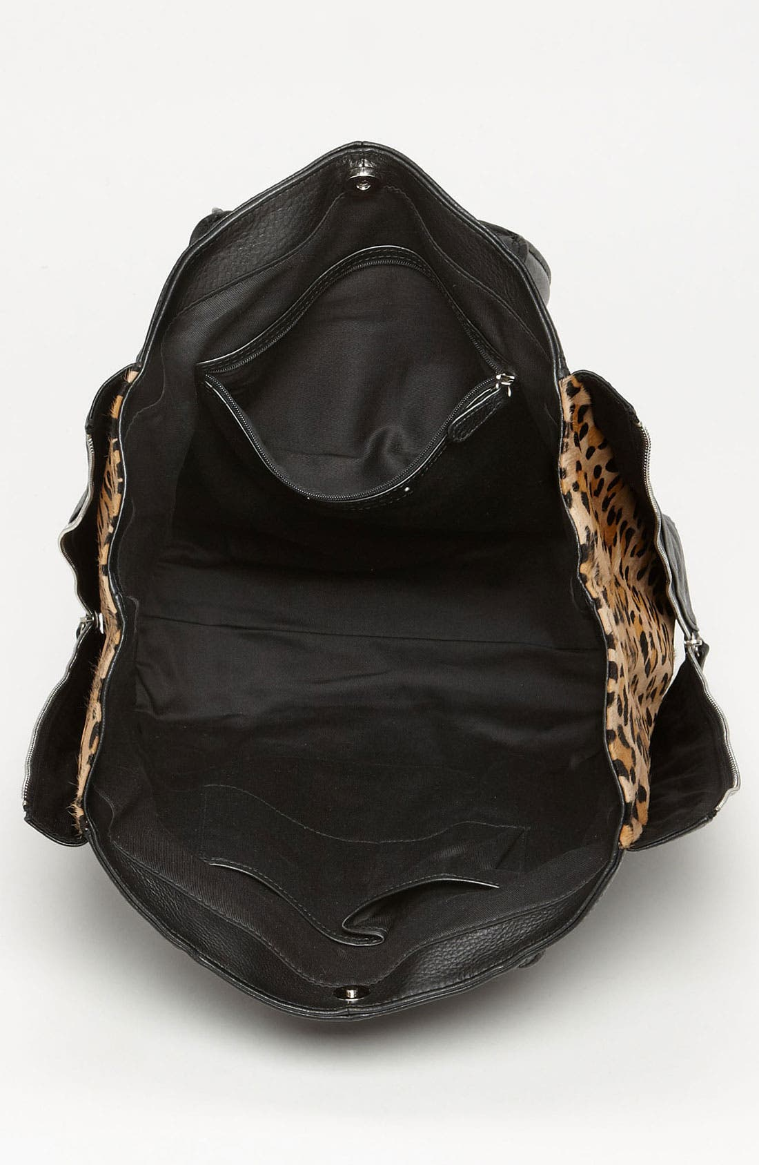 Alternate Image 3  - Halogen® Calf Hair Zip Out Leather Tote