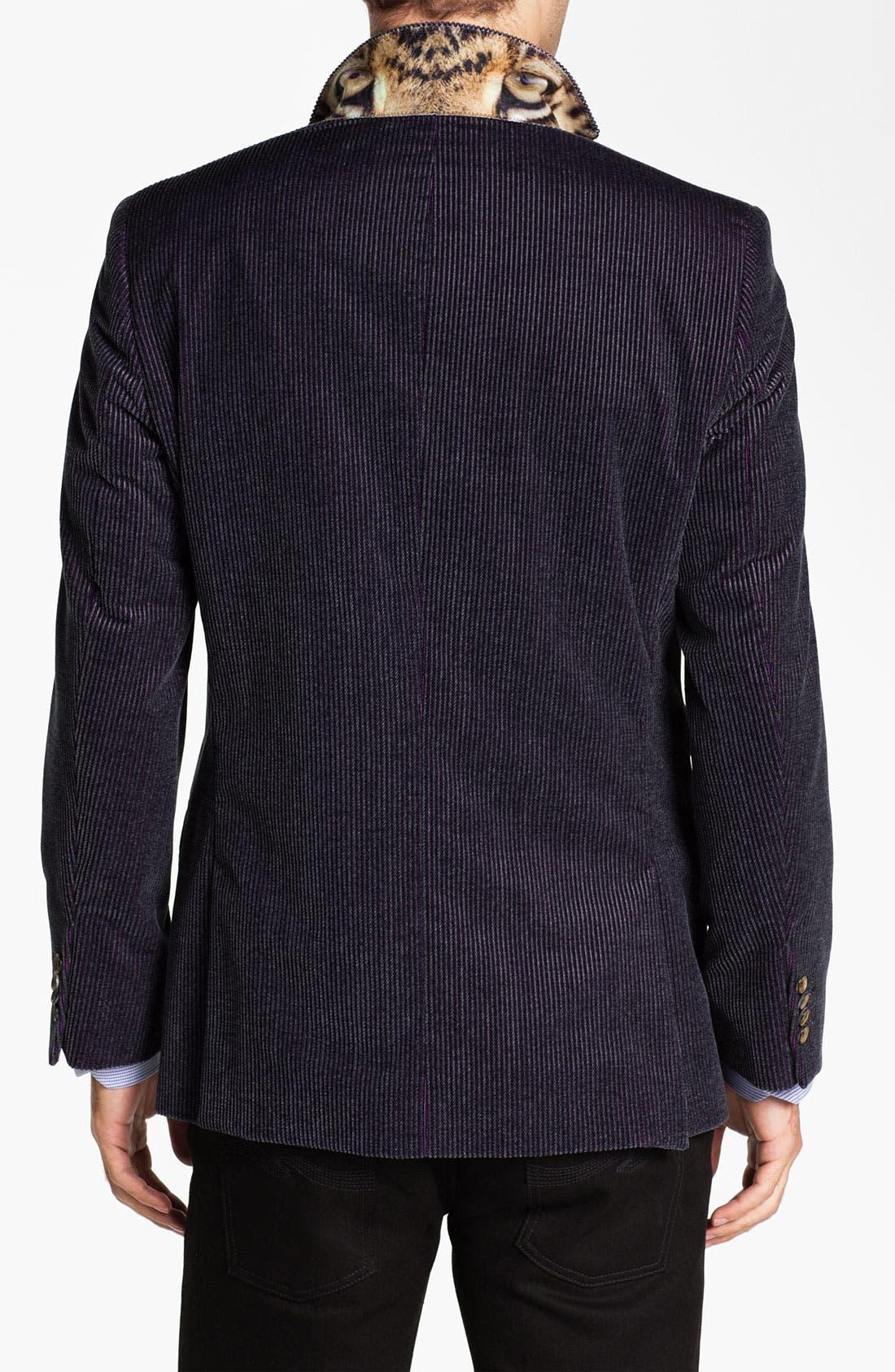 Alternate Image 2  - Ted Baker London 'Global' Trim Fit Corduroy Sportcoat