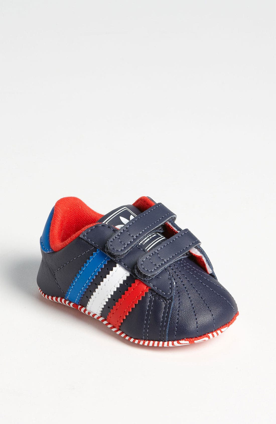 Main Image - adidas 'Superstar 2' Crib Shoe (Infant)